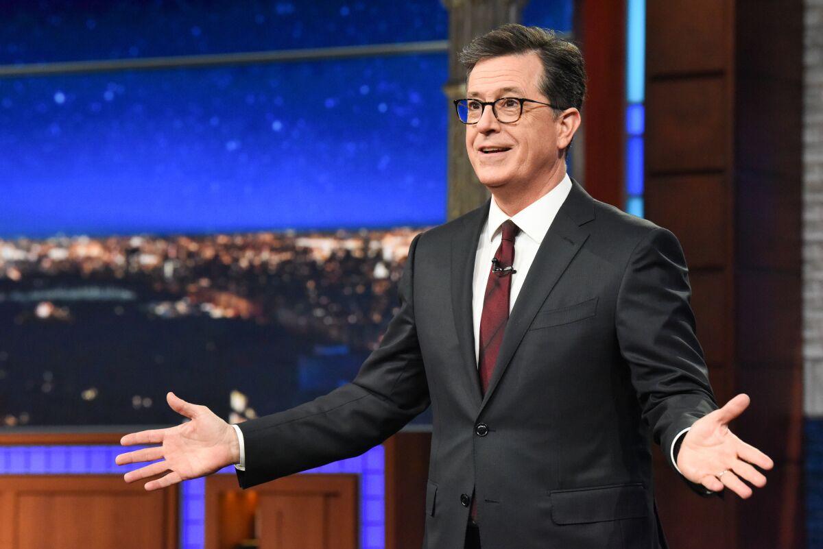 Stephen Colbert: Lev Parnas threw Trump under the Ukraine bus