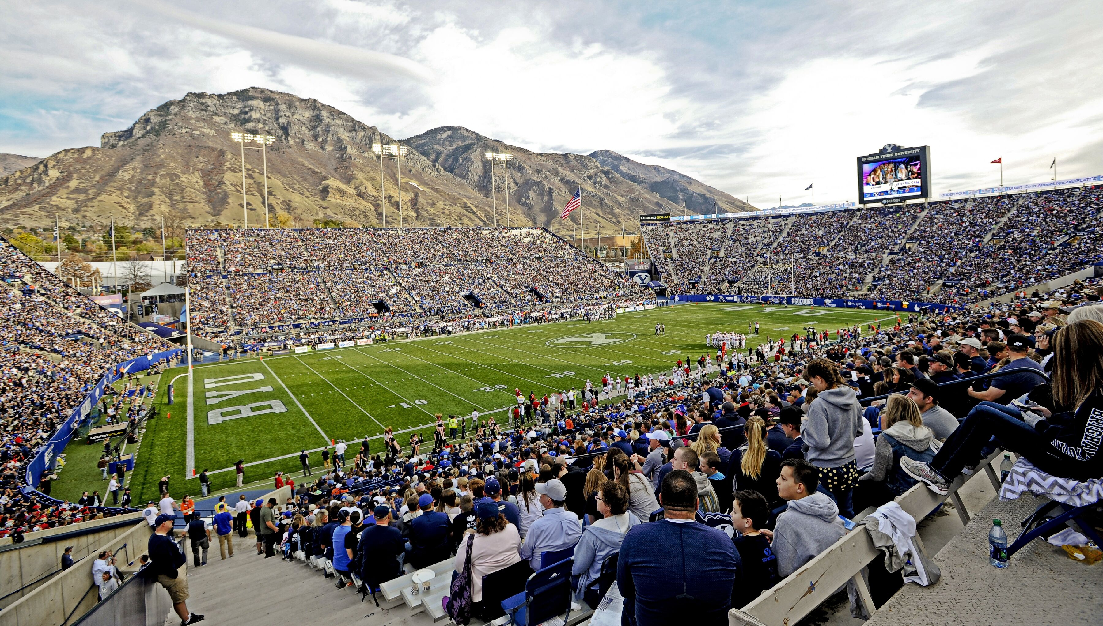 Image result for byu football stadium
