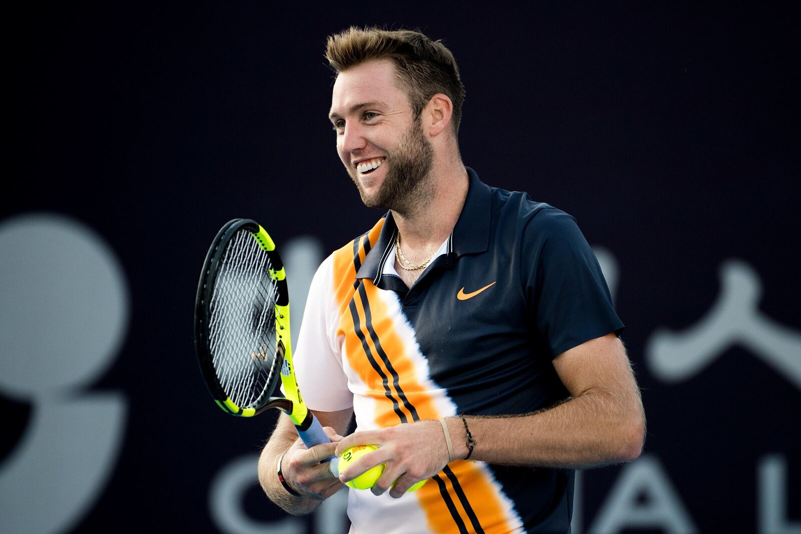 Anything's Possible: Jack Sock Wins A Singles Match