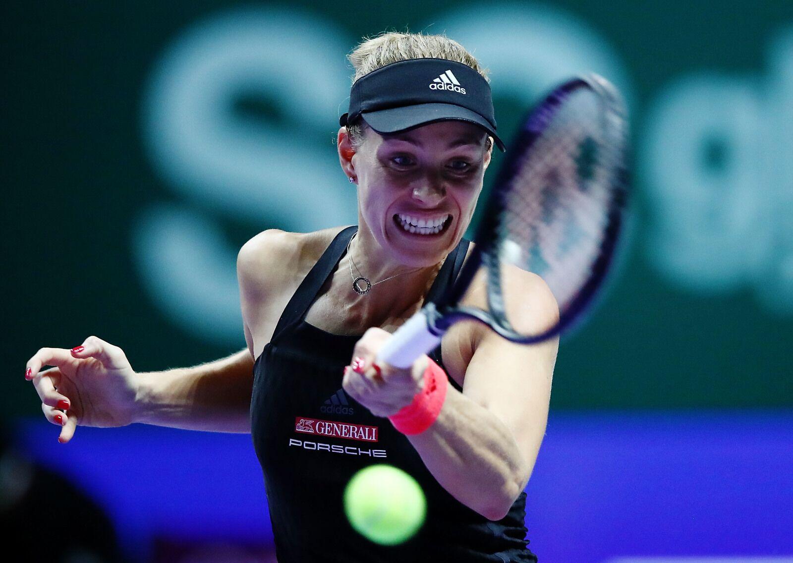 Angelique Kerber Rebounds From Opening Match WTA Finals Loss