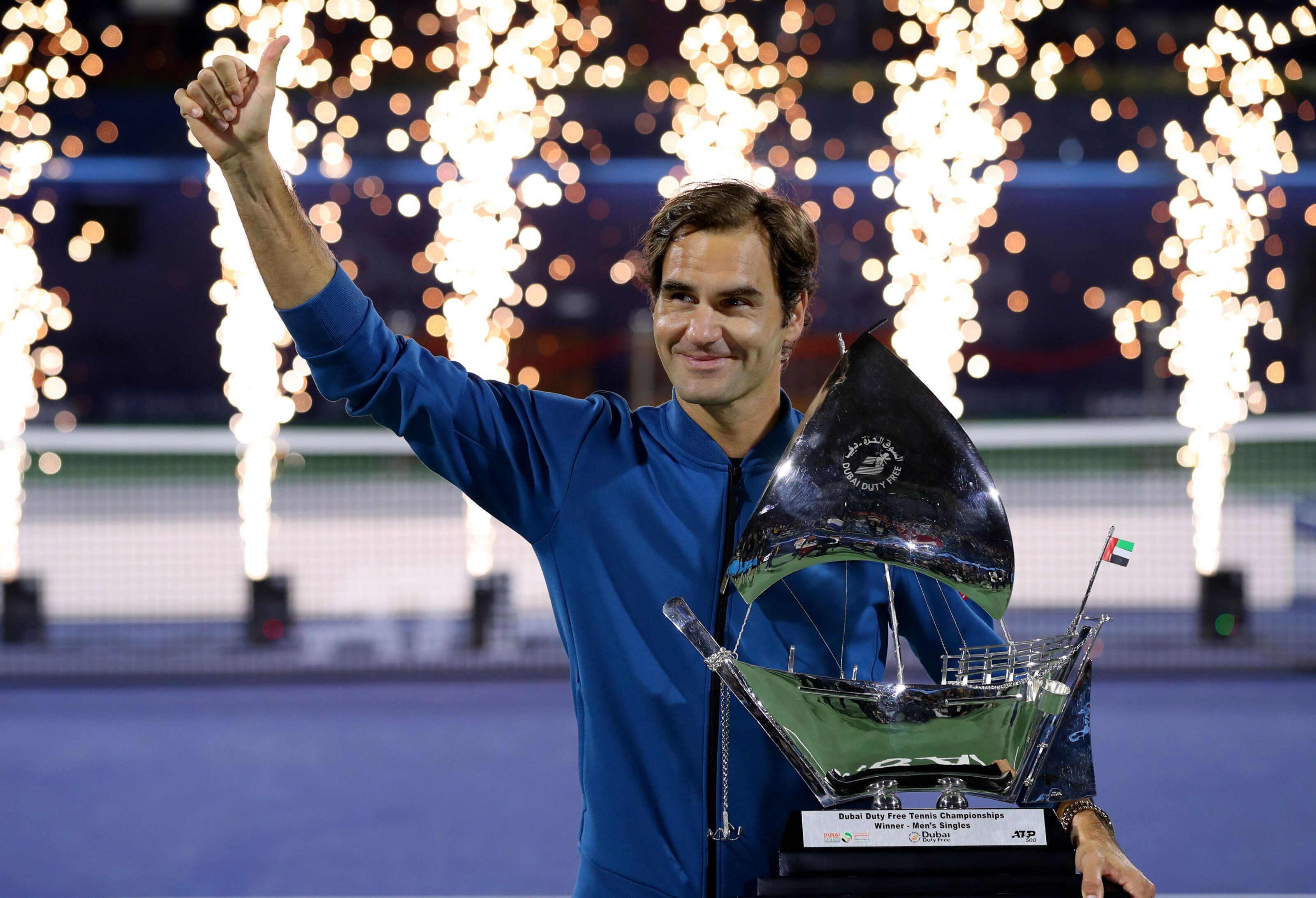 Count em up and watch Roger Federer win all 100 titles
