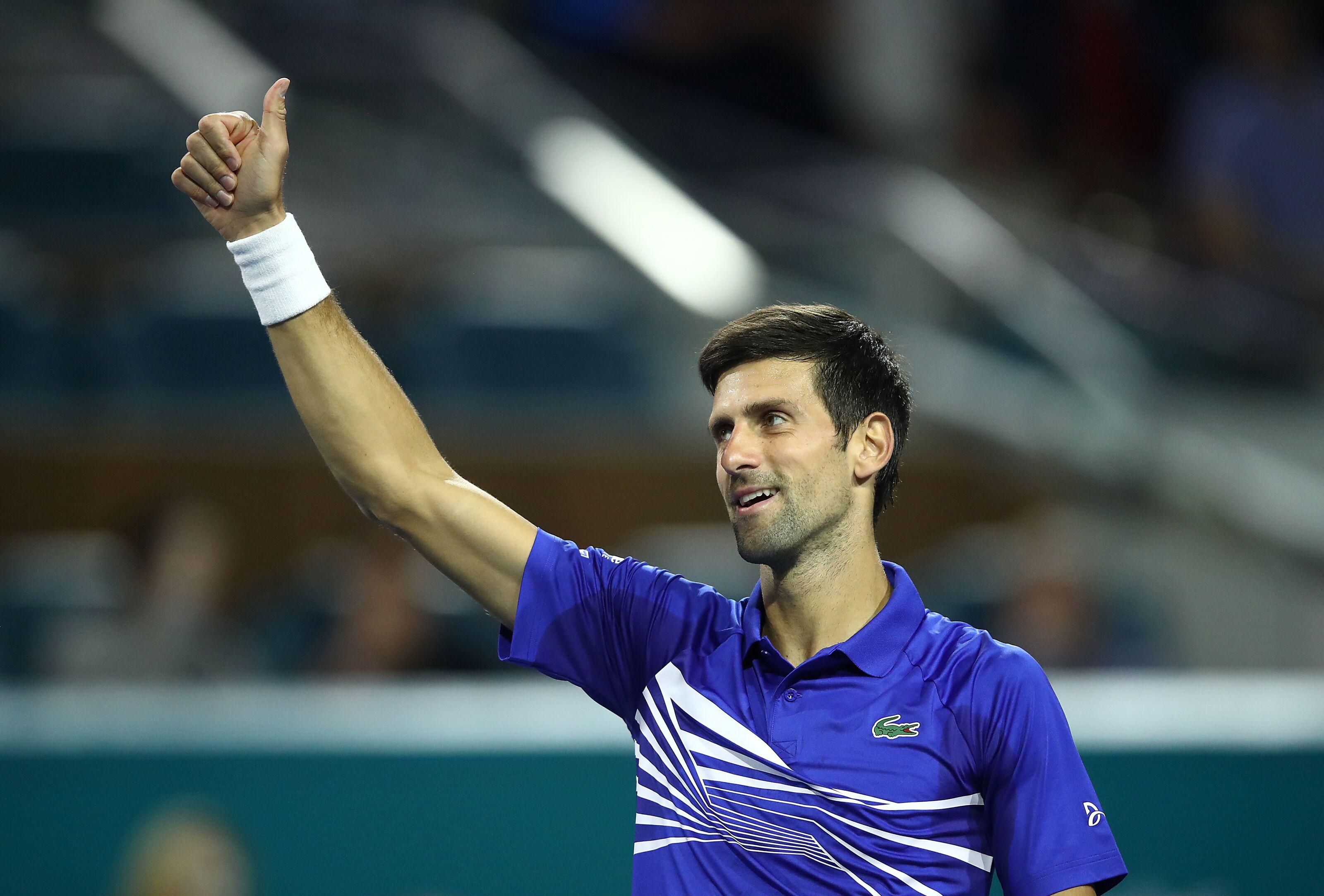 Novak Djokovic among early 2019 Miami Open winners