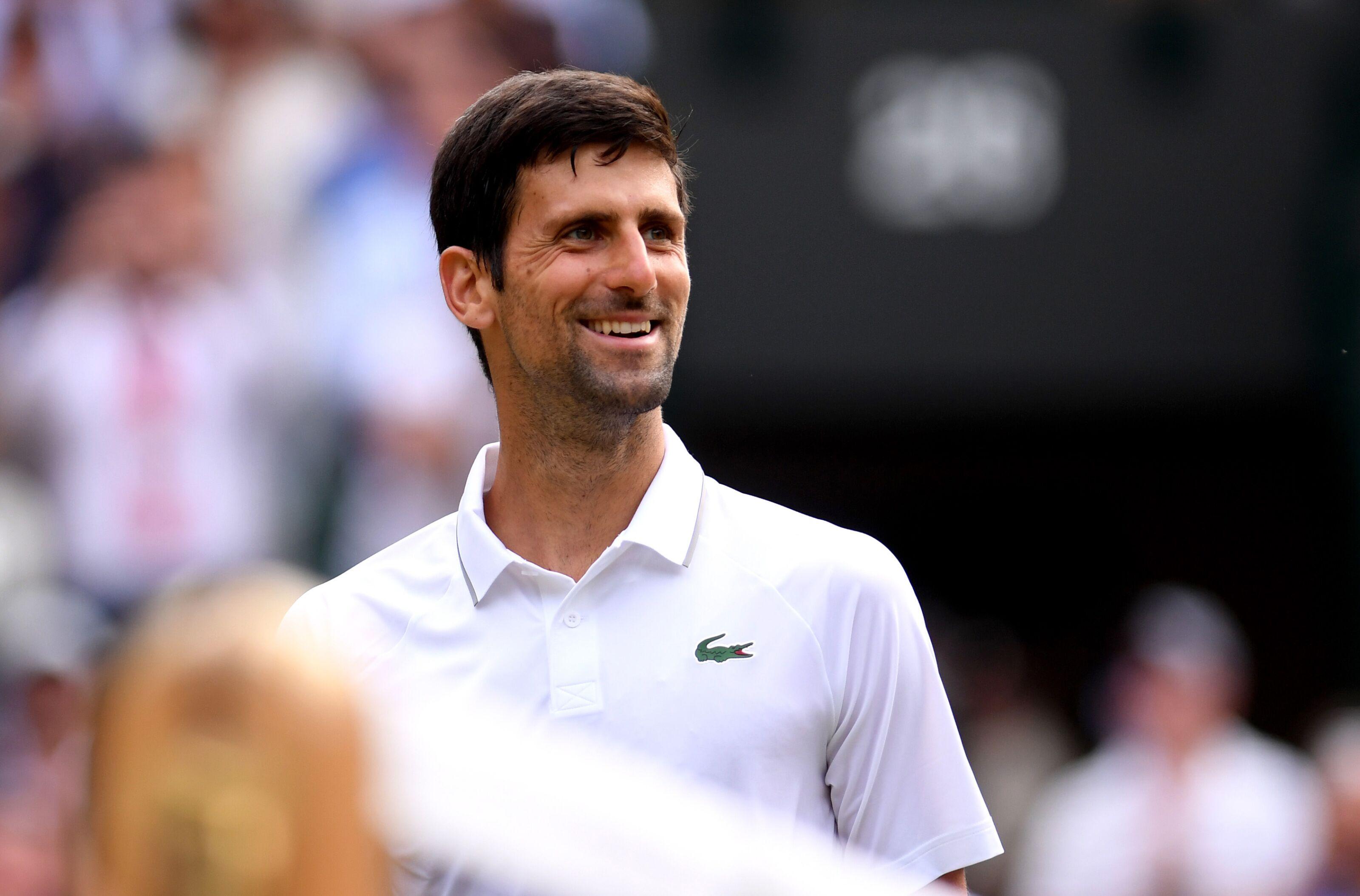 Novak Djokovic praises 'coach' Ronaldo as Nadal tips new Slam winner