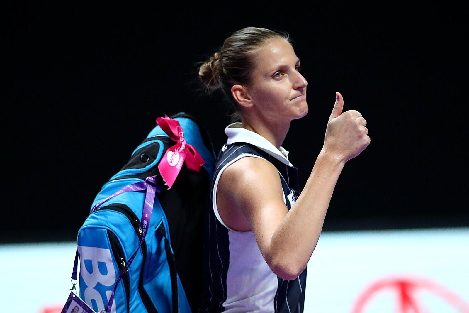 Karolina Pliskova: Time to deliver on the biggest stage