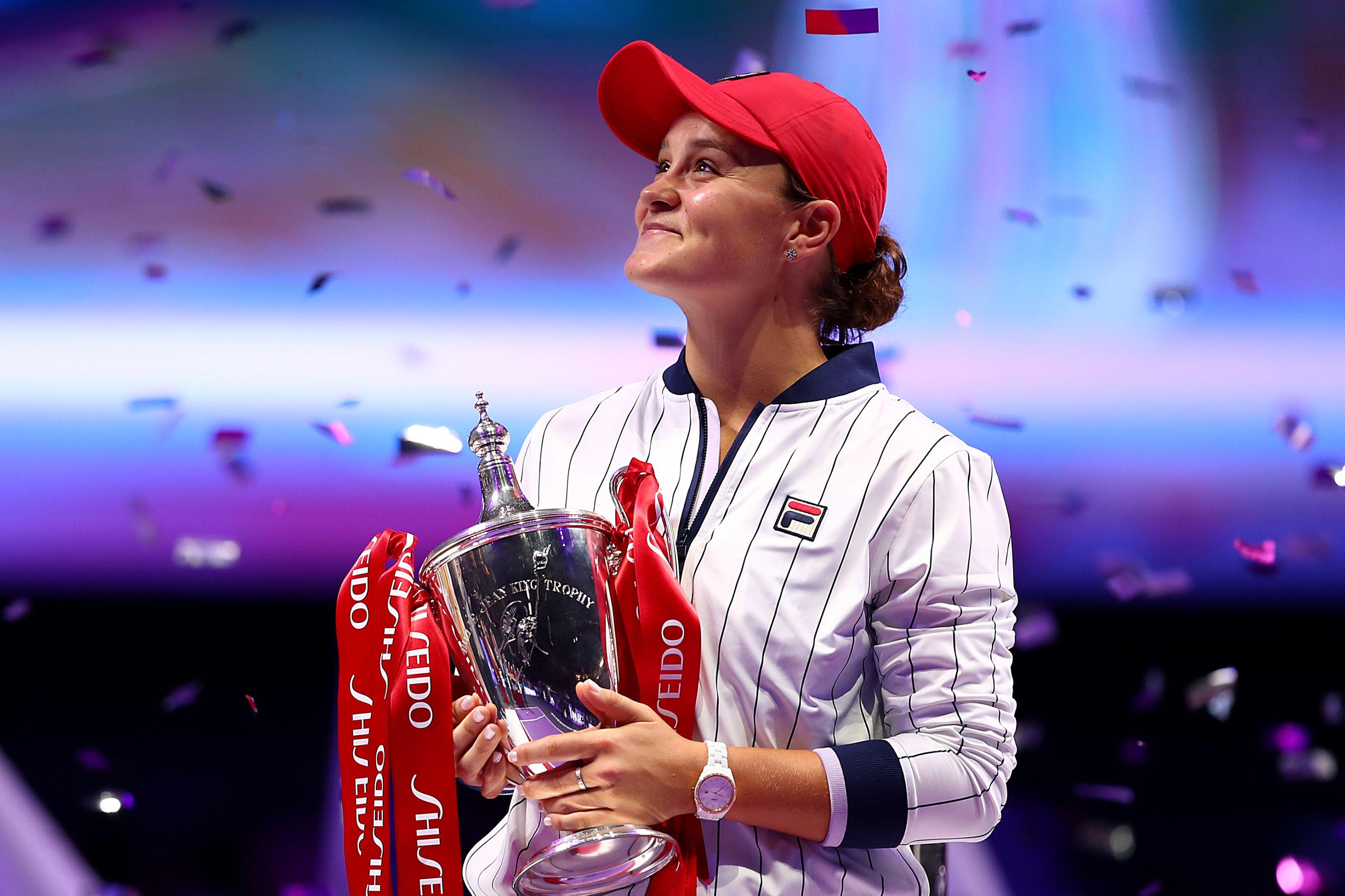 WTA Player of the Year: Ashleigh Barty beats Naomi Osaka to top honour