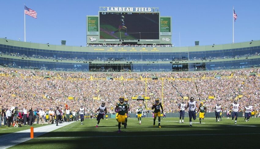 The Green Bay Packers Host The San Diego Chargers Today