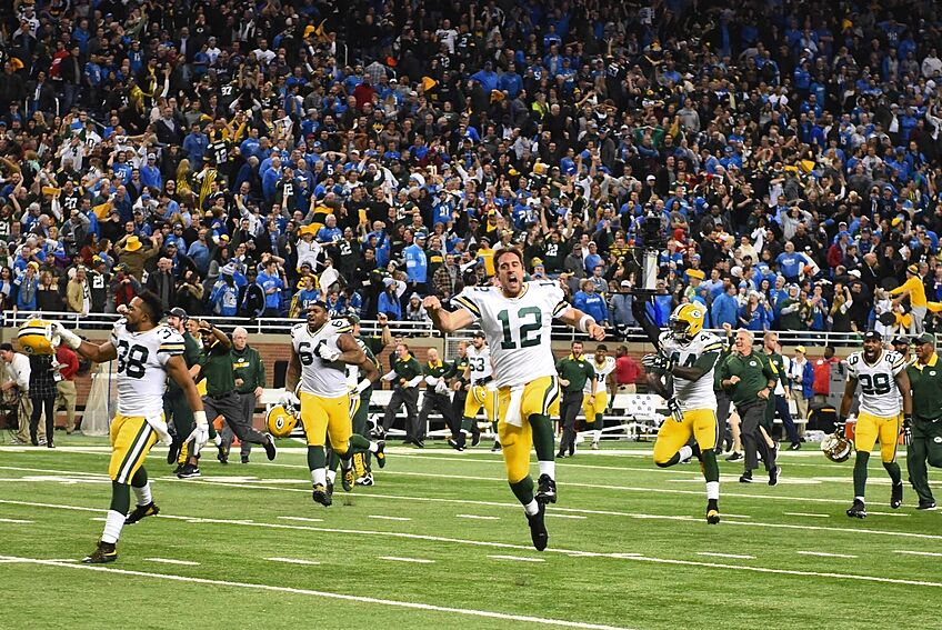 sports shoes bb172 95850 The greatest moment in the Green Bay Packers 2015 season.