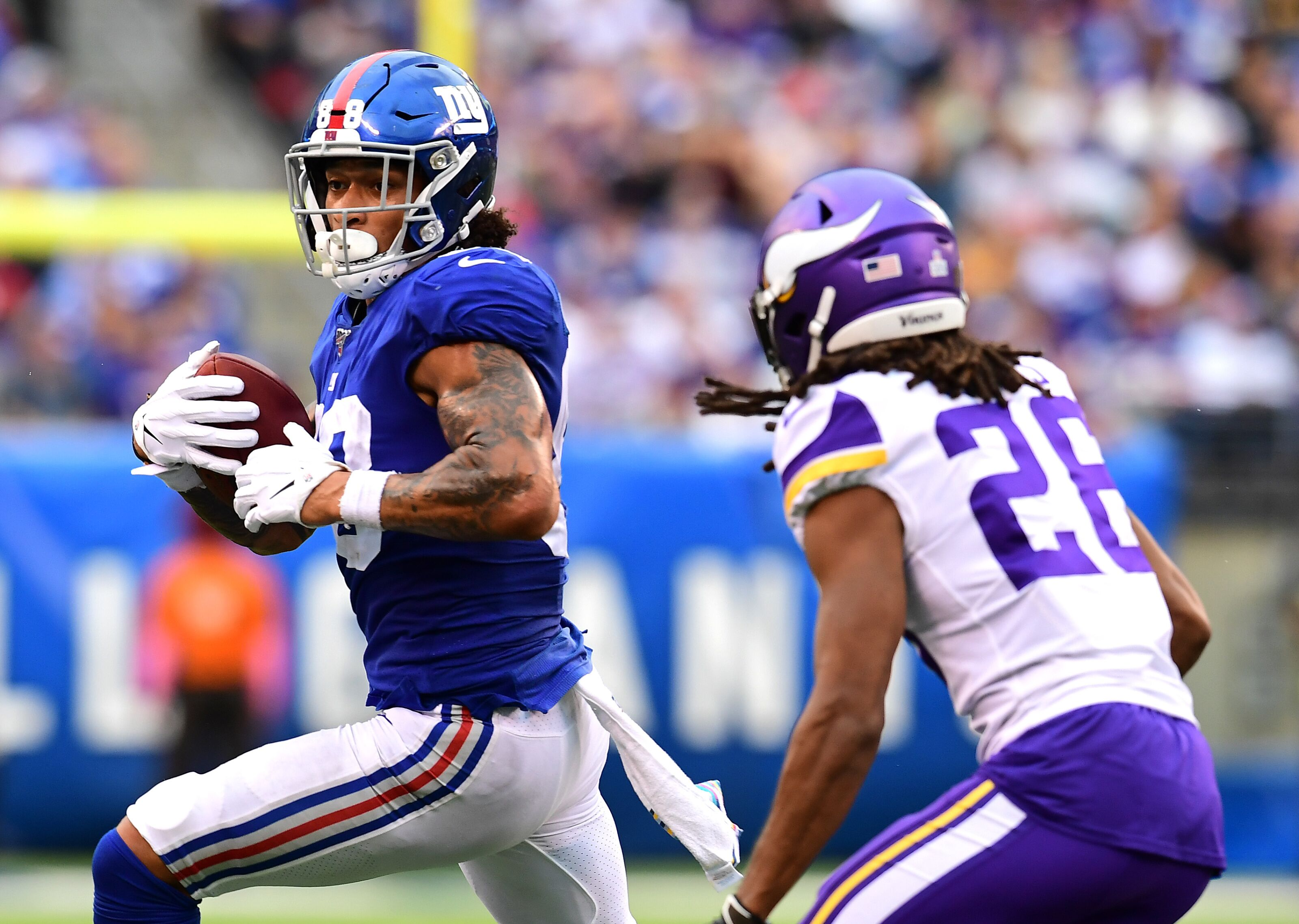 Packers won't play against Evan Engram, Golden Tate in Week 13