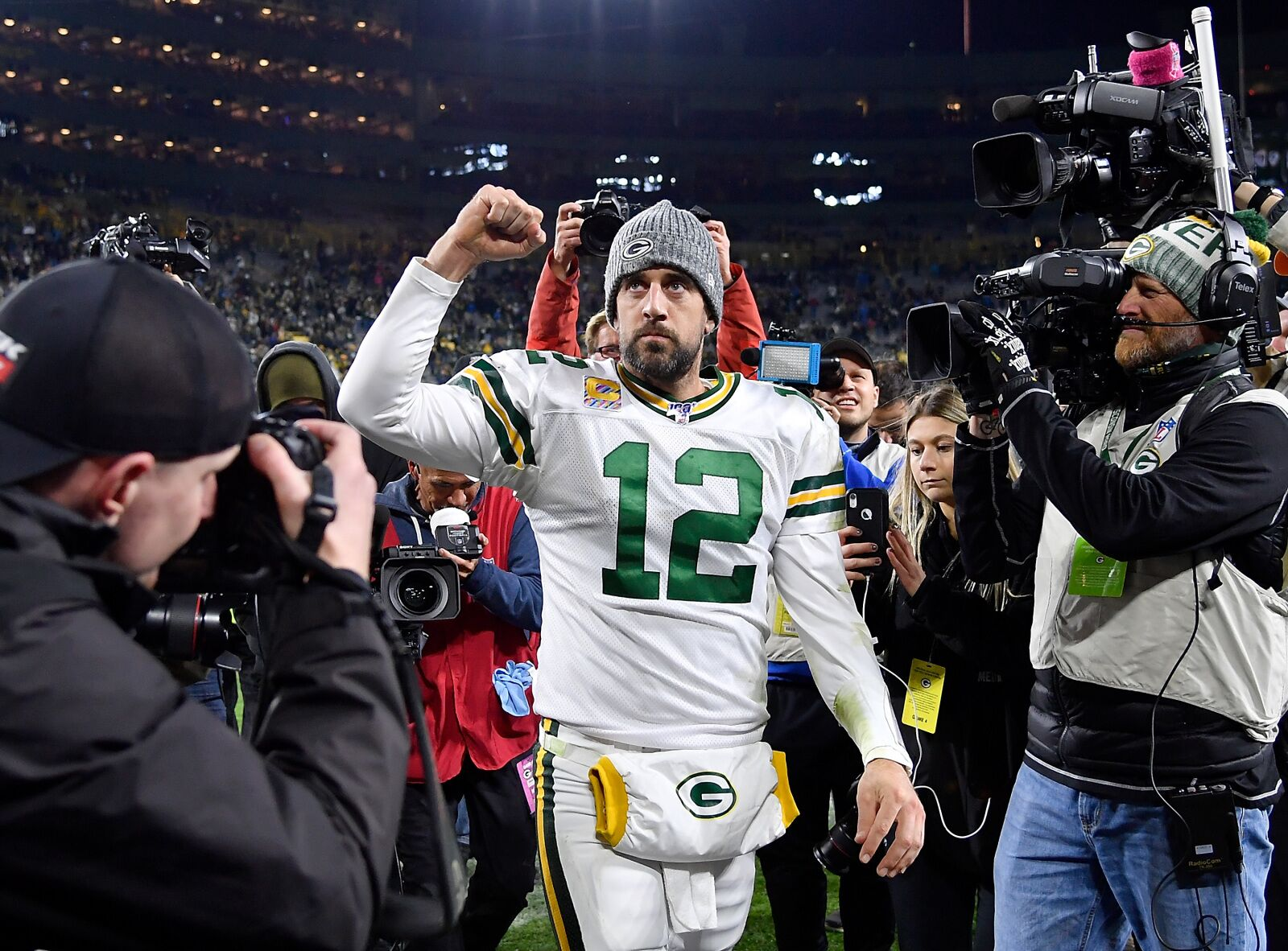 Should Packers' Aaron Rodgers be in the MVP conversation?