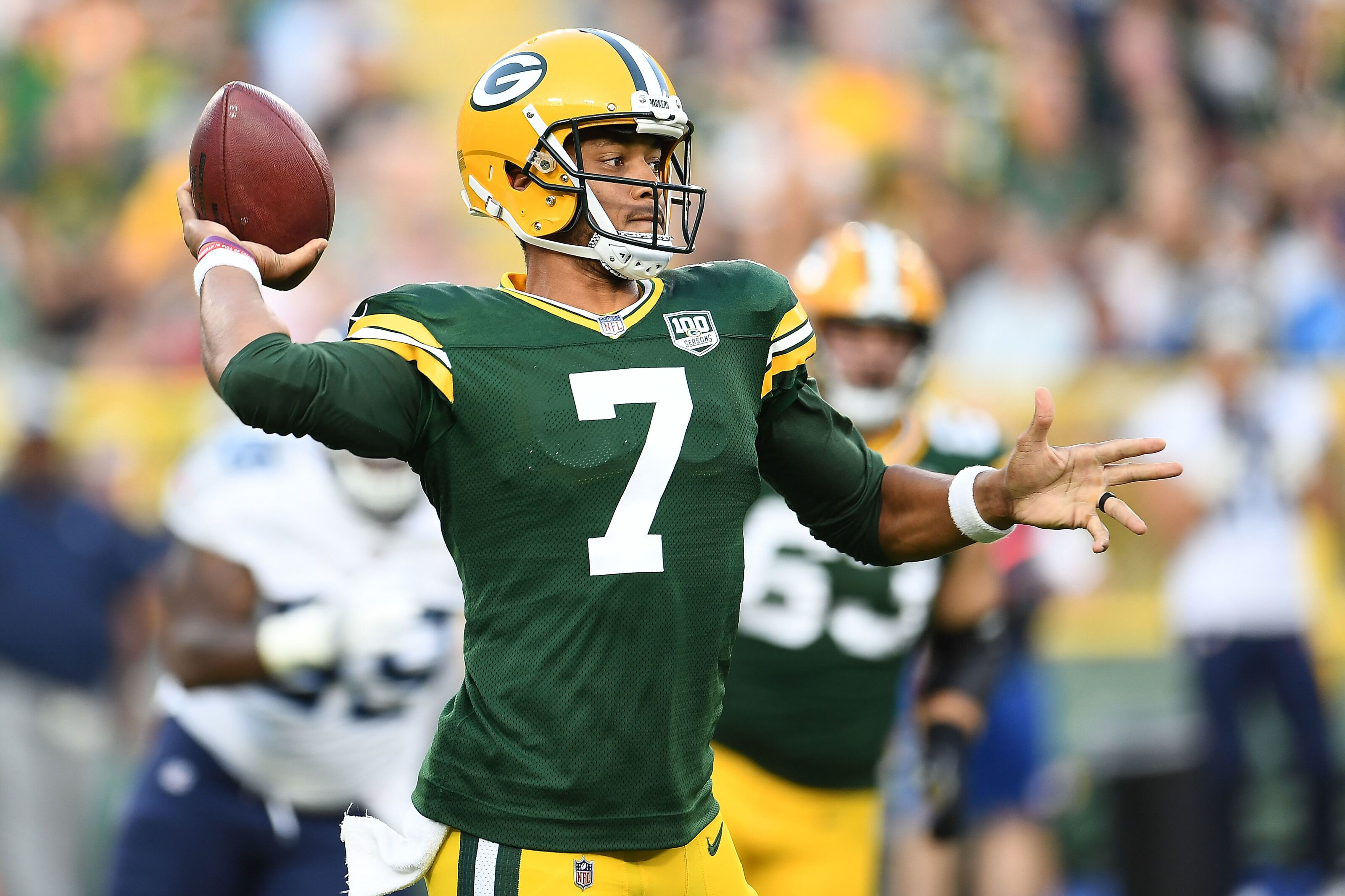 brand new 70edb 4052c Packers topple Titans in exciting preseason opener