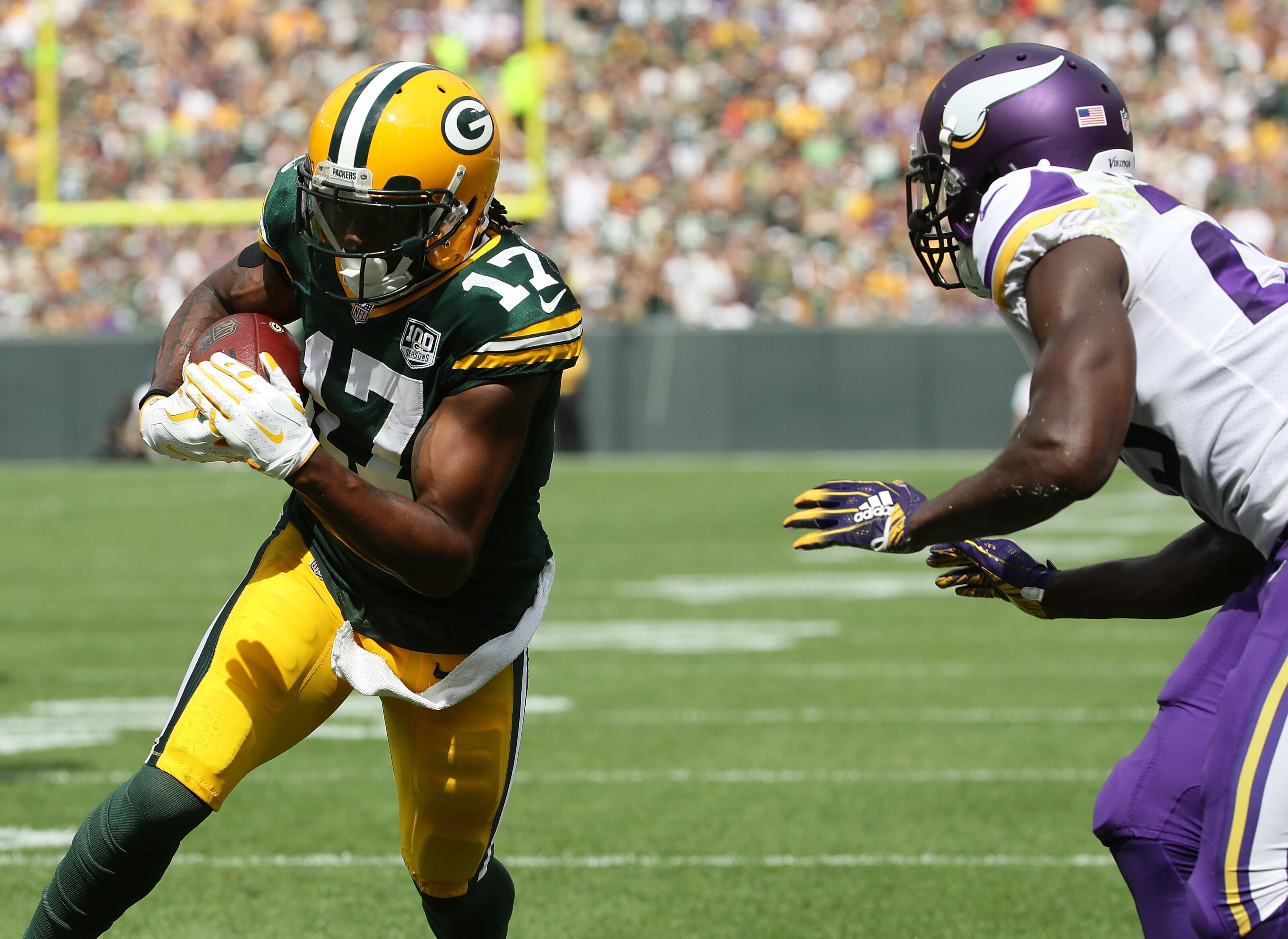 Packers: Davante Adams in top five of FanSided fantasy WR rankings