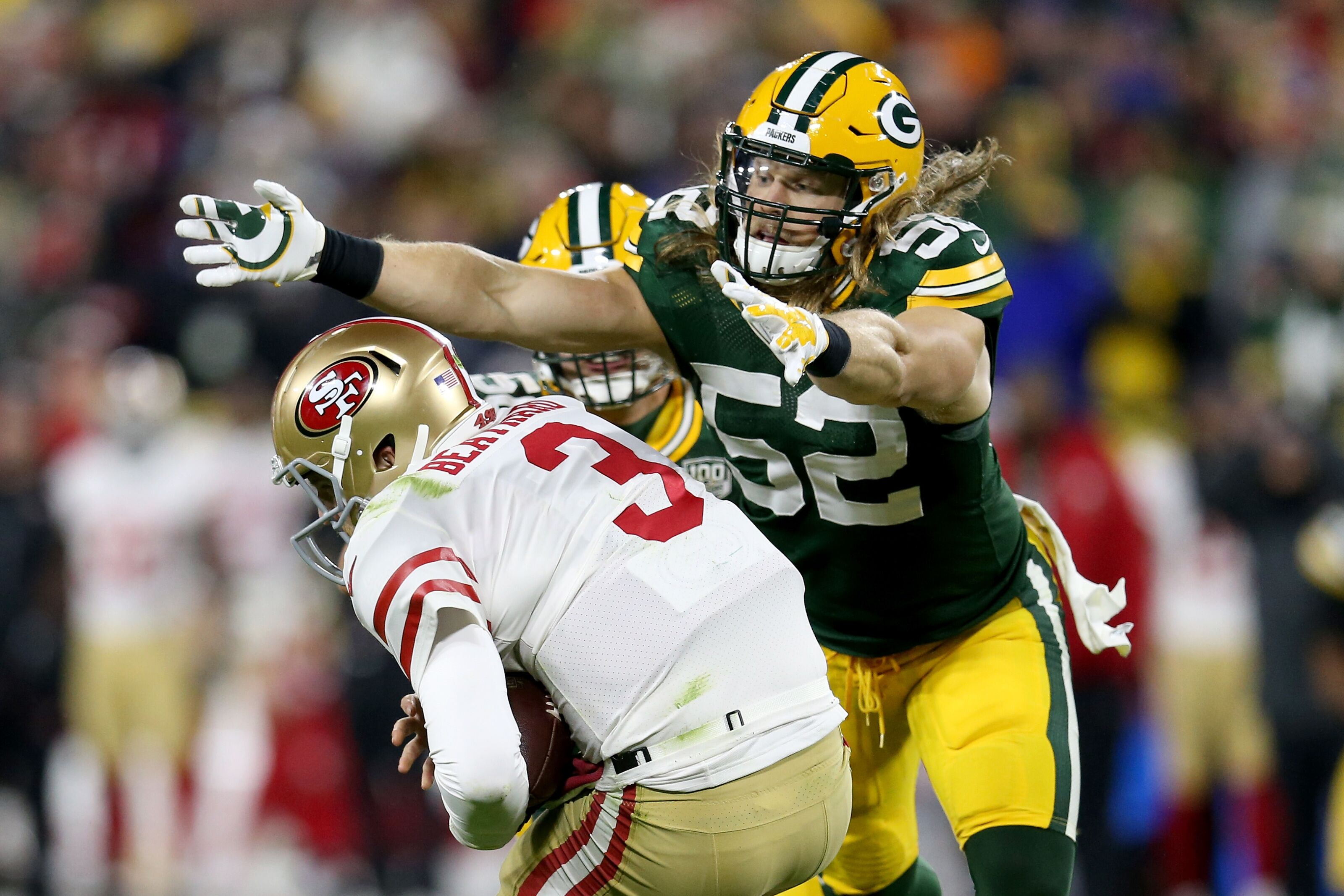 on sale cf5e8 6cff2 Green Bay Packers 2019 roster review: Clay Matthews
