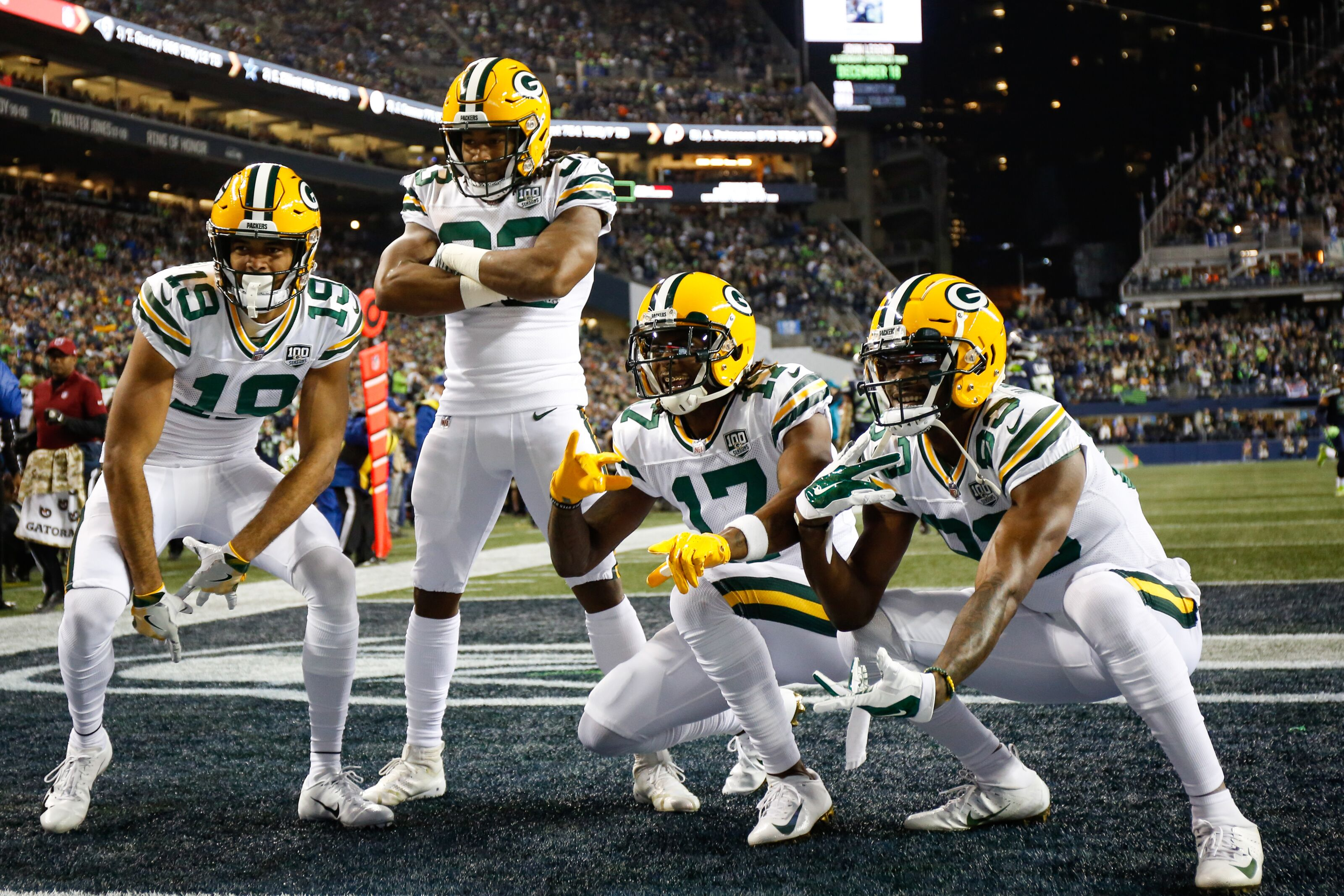 Packers could have best run game in NFC North in 2019