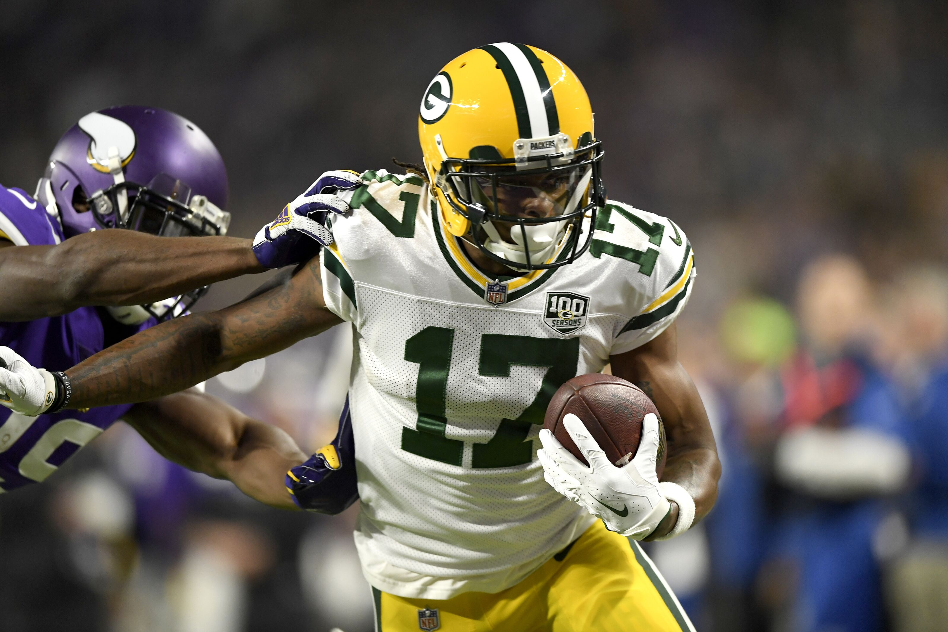e23a1a6de77 Davante Adams can make top 10 in career TDs for Packers in 2019