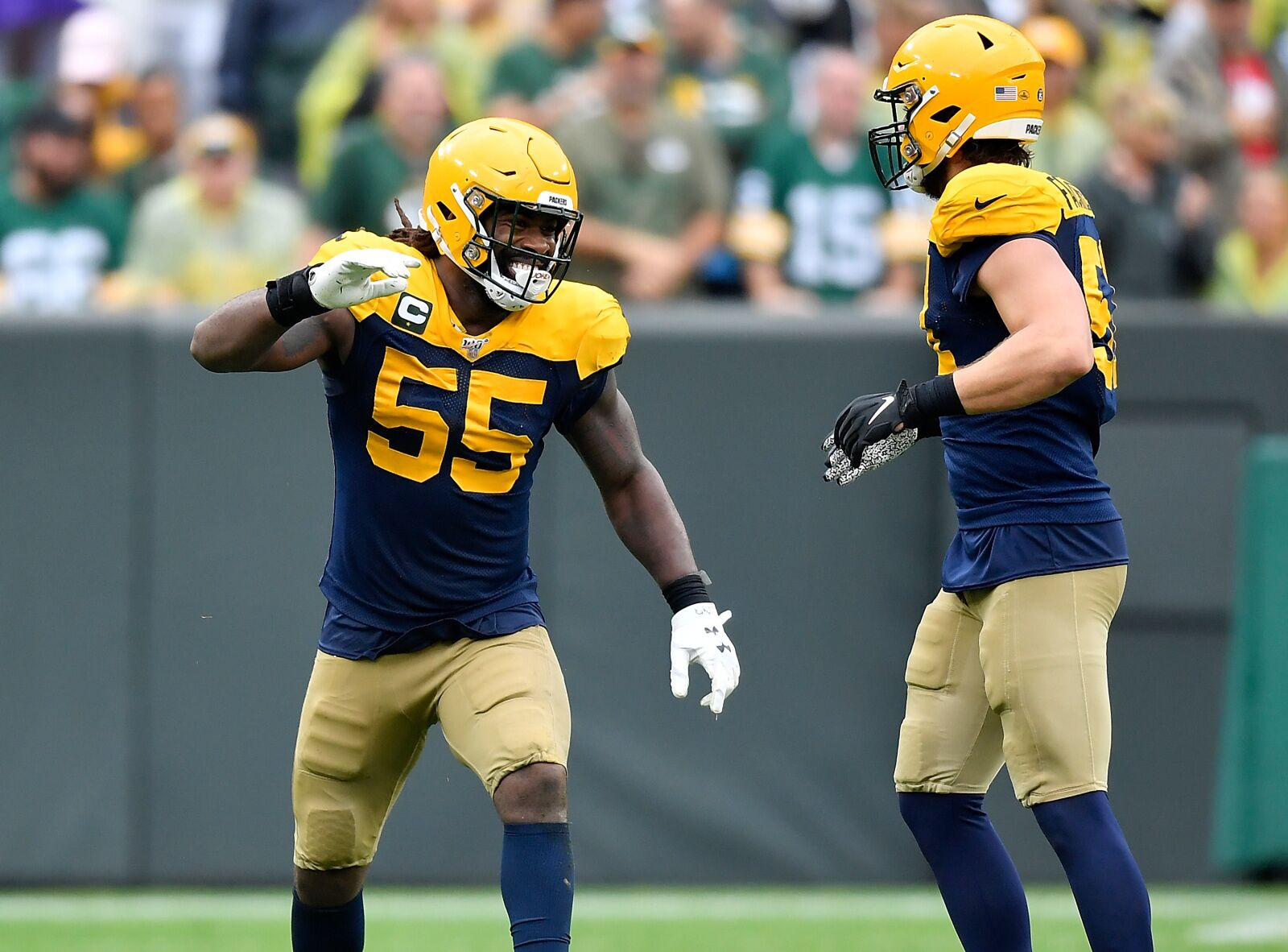 NFC North Week 3: Packers remain in first place after victory