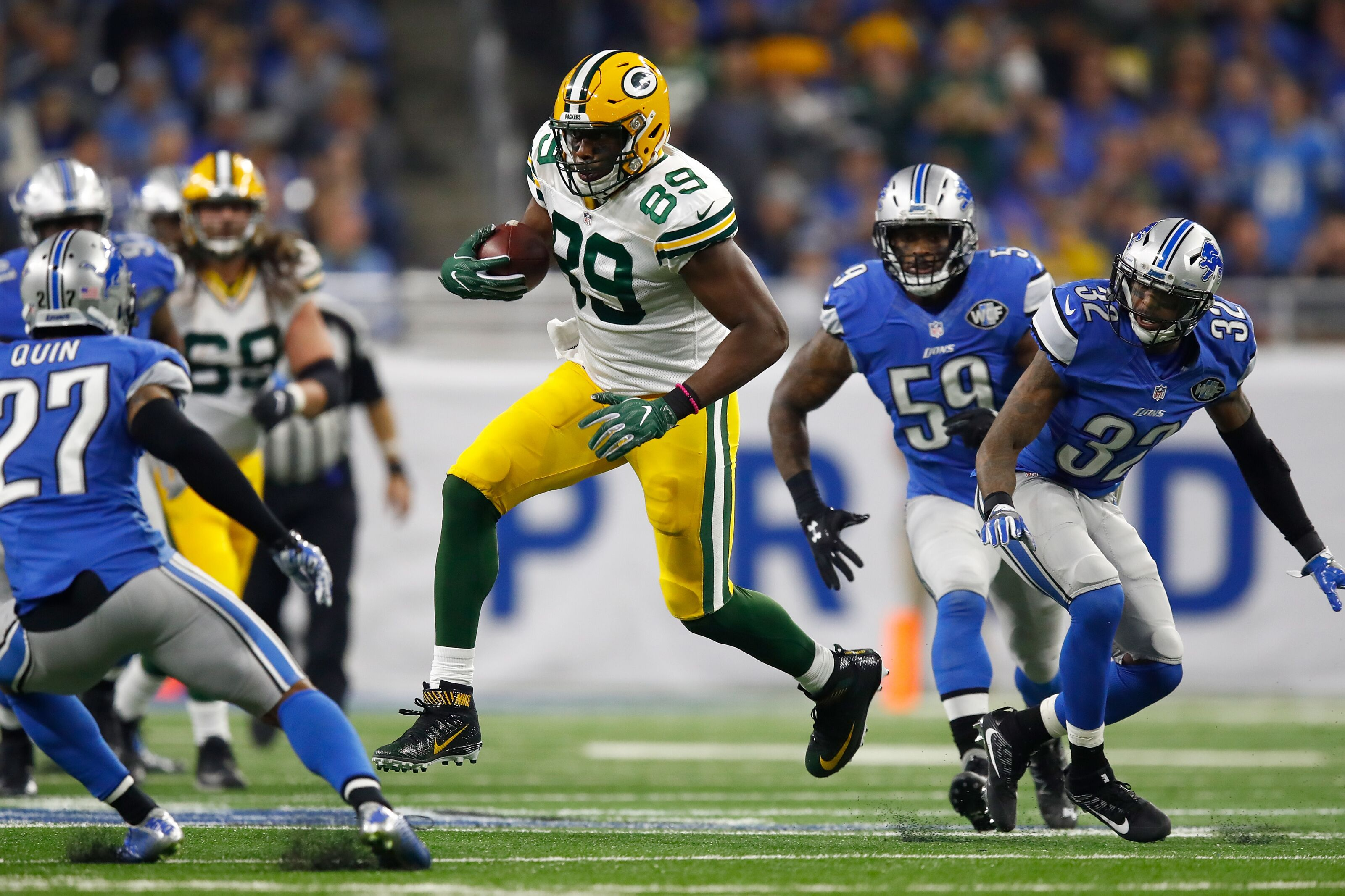 95cf7549b Packers  Jared Cook reunion an option in free agency