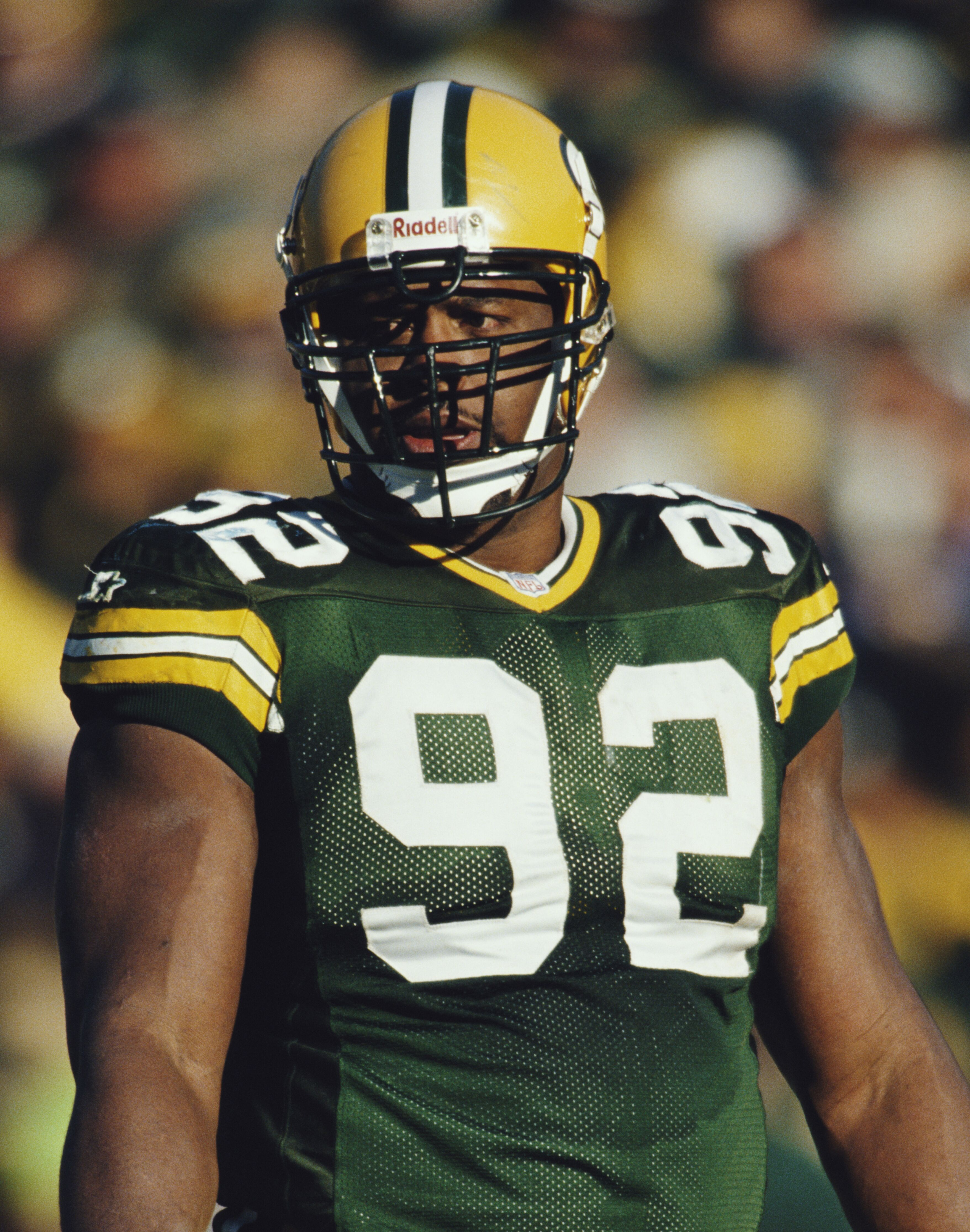 official photos 9e947 f236f Green Bay Packers in the Hall of Fame: Reggie White