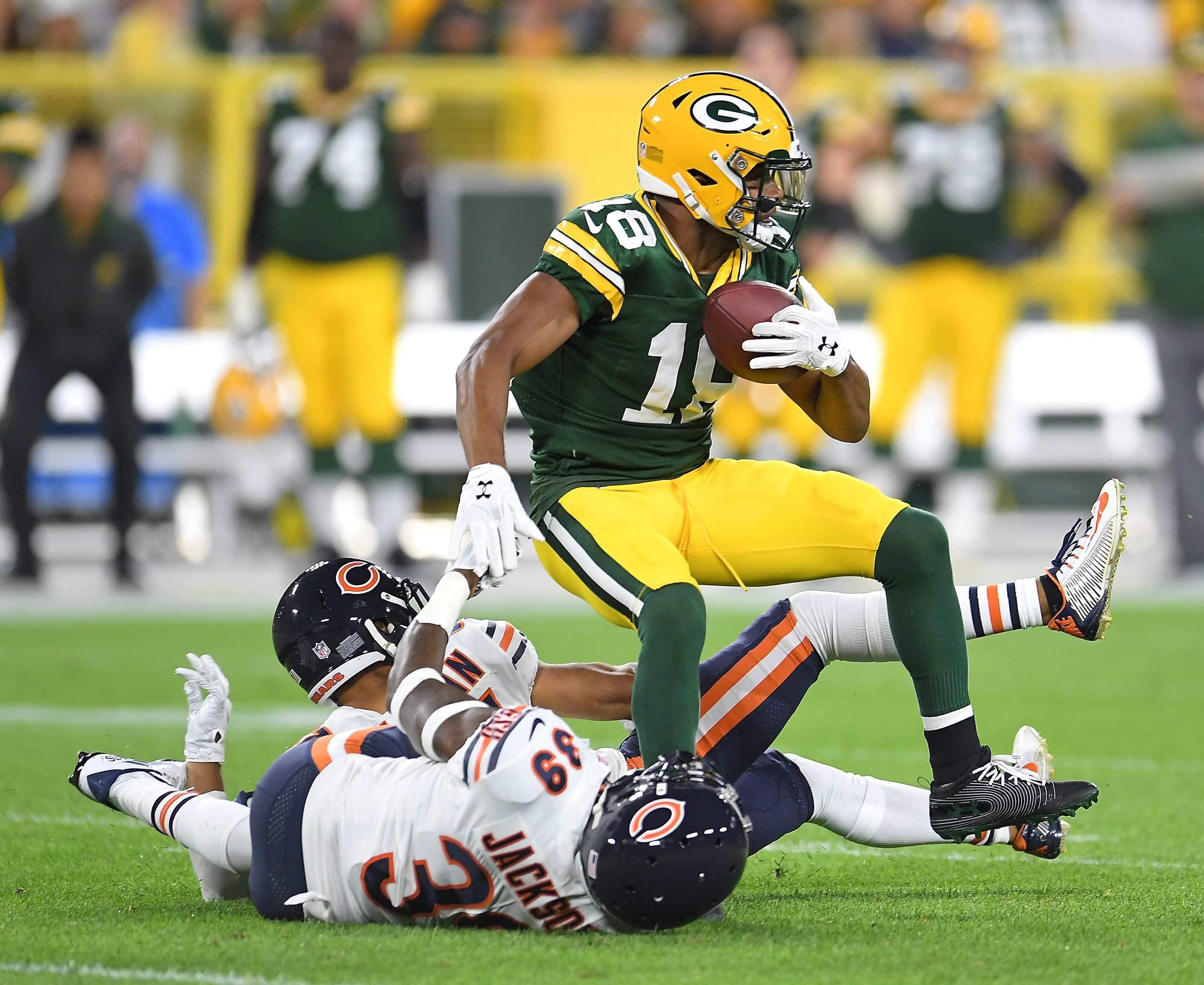 Packers vs Bears | Live Play-By-Play & Reactions - YouTube