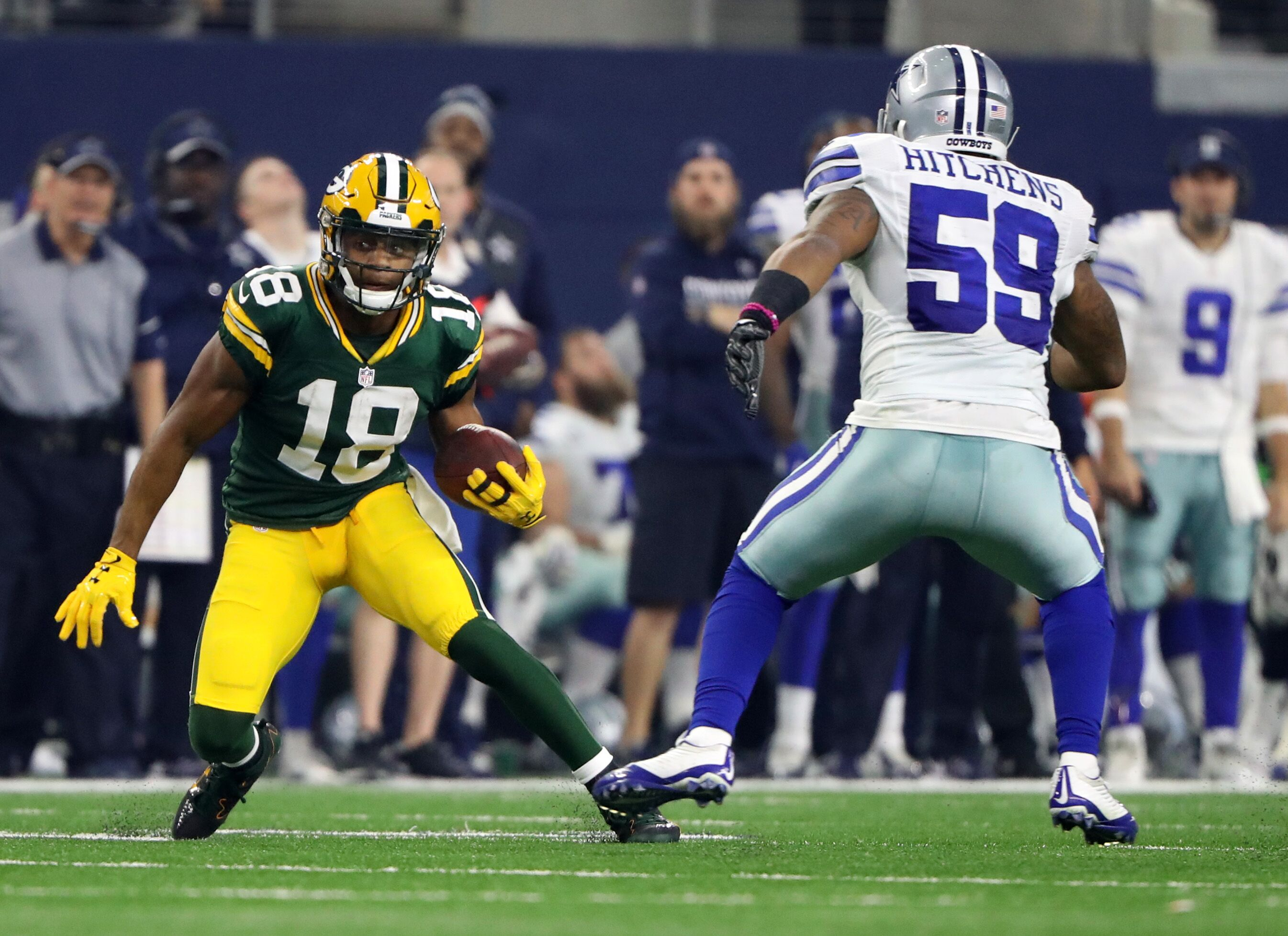 NFC Championship - Green Bay Packers at Dallas Cowboys ...