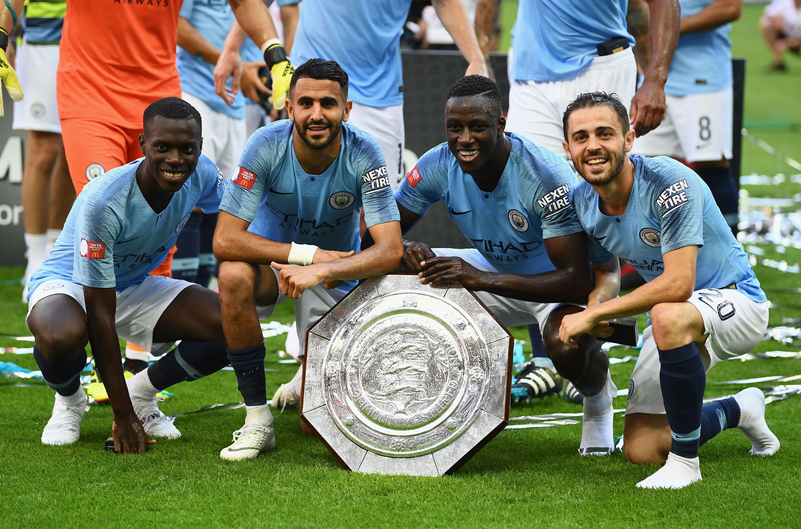 Manchester City 4 Wins at Wembley Stadium in 2018