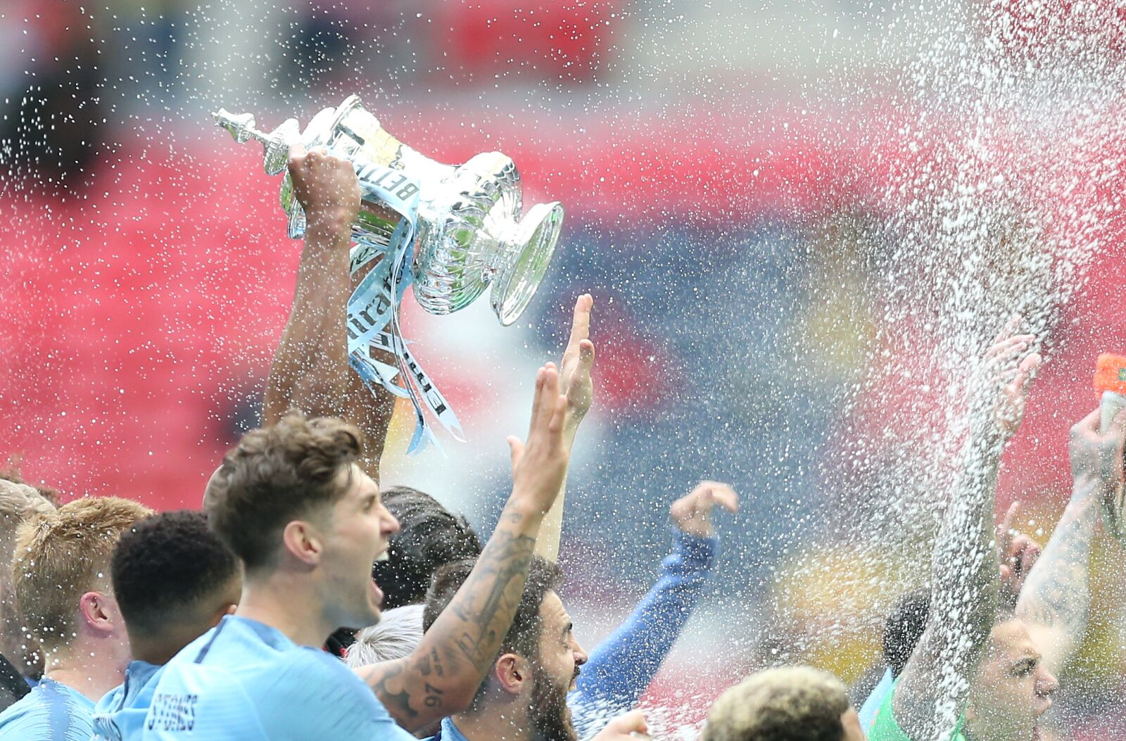 Manchester City Thrash Watford to Win the FA Cup Final