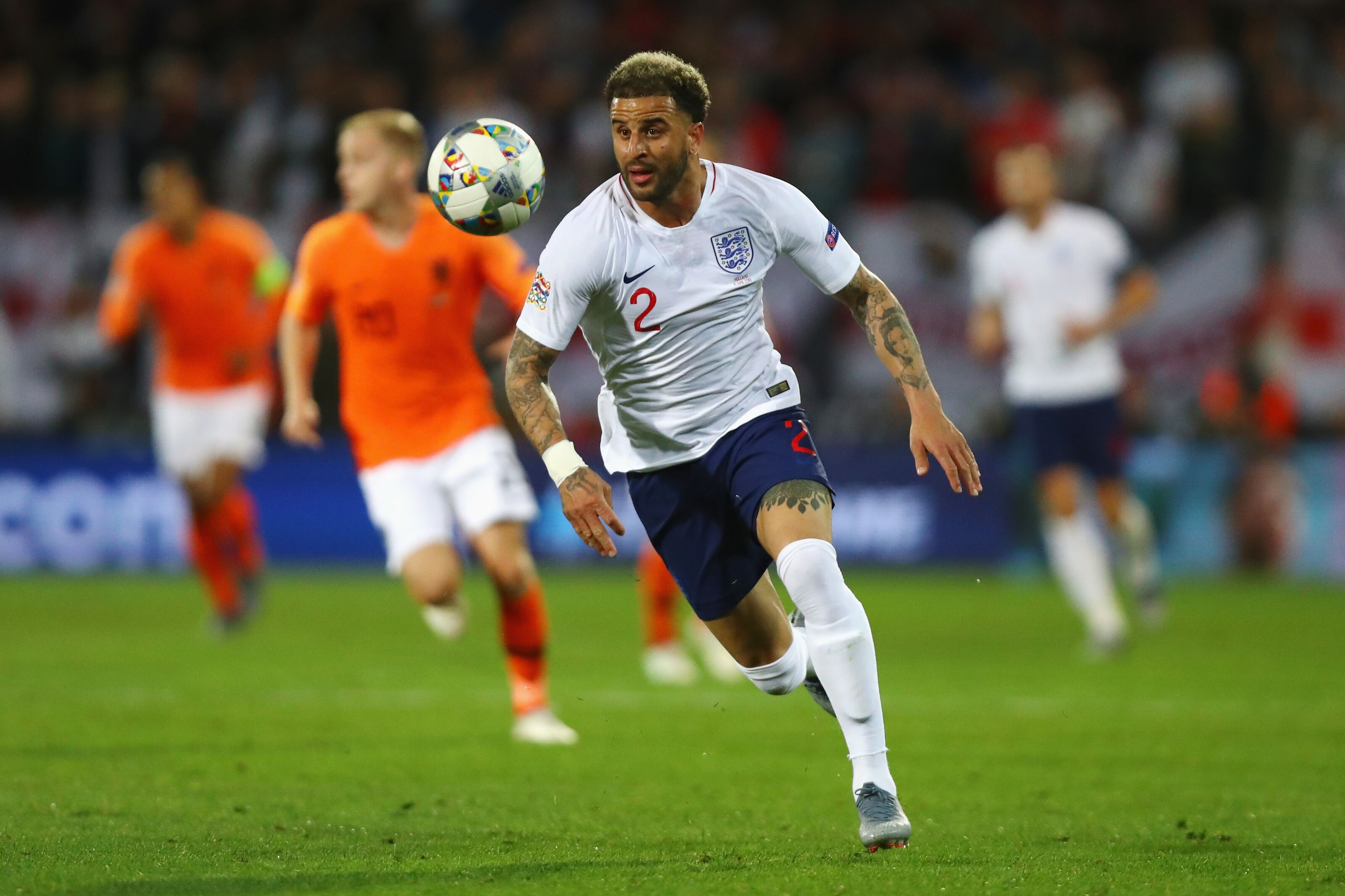 Kyle Walker Left Out by England Again