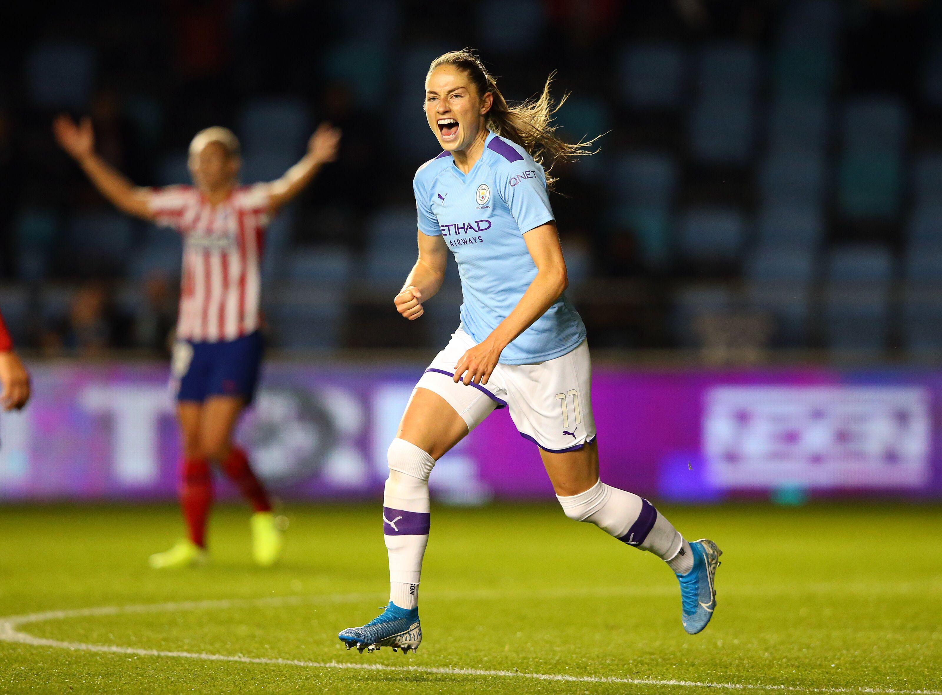 Manchester City Women 1 Athletico Madrid 1
