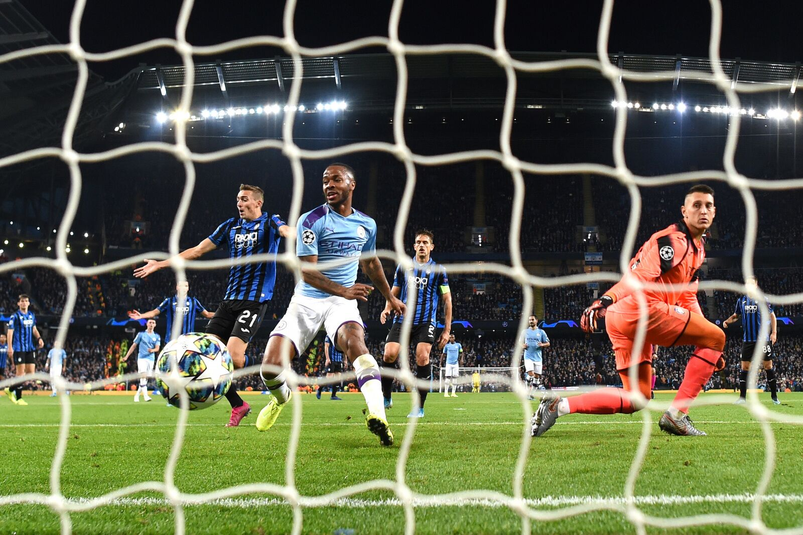 Manchester City 5 Atalanta 1 : Player Ratings