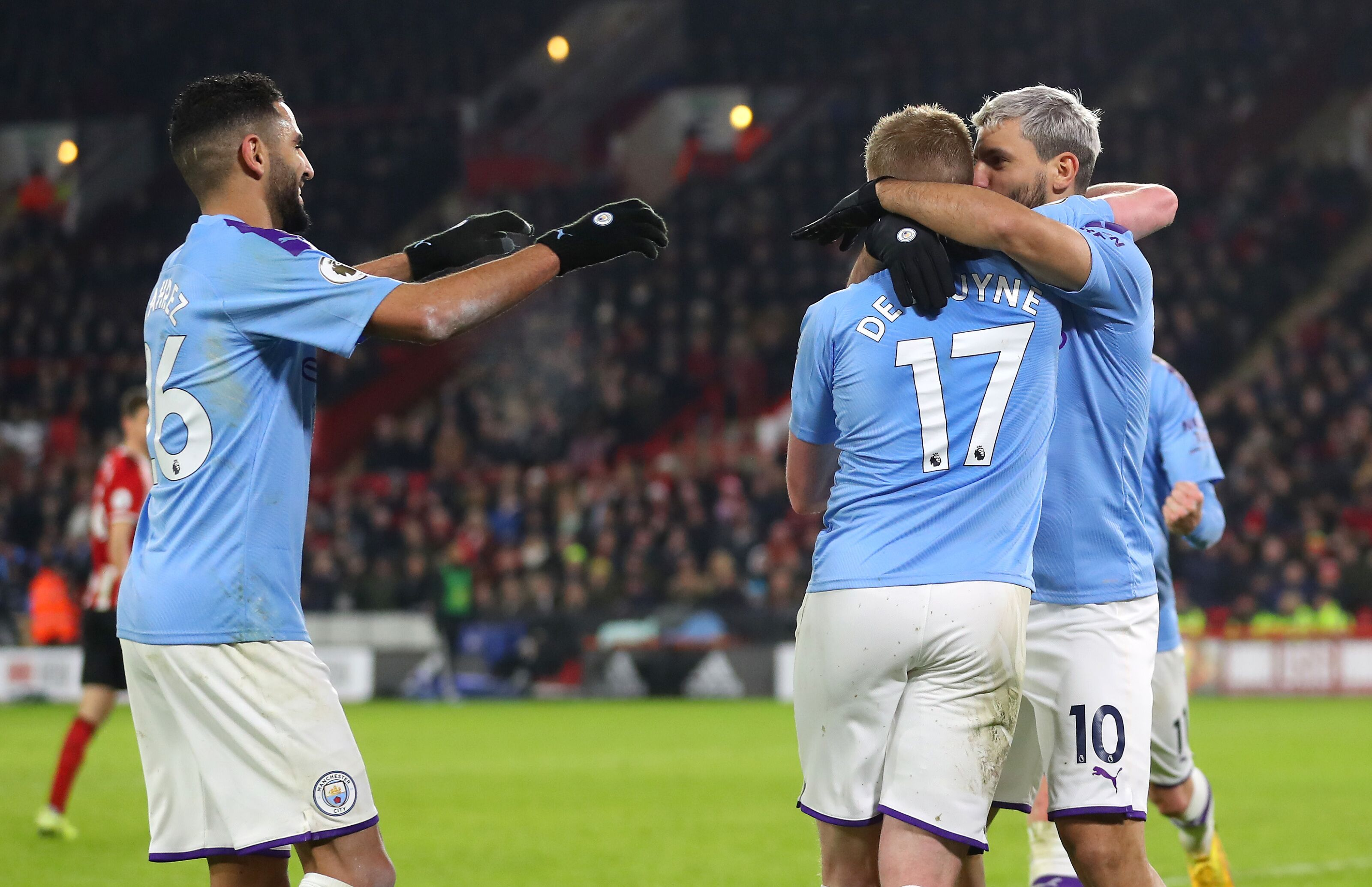 Manchester City: Player ratings in Sheffield United win