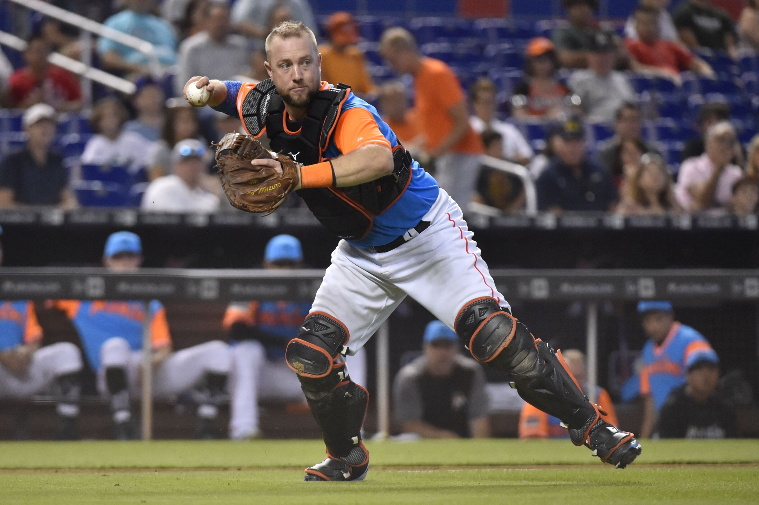 15a98dc5d Miami Marlins Transactions  Bryan Holaday