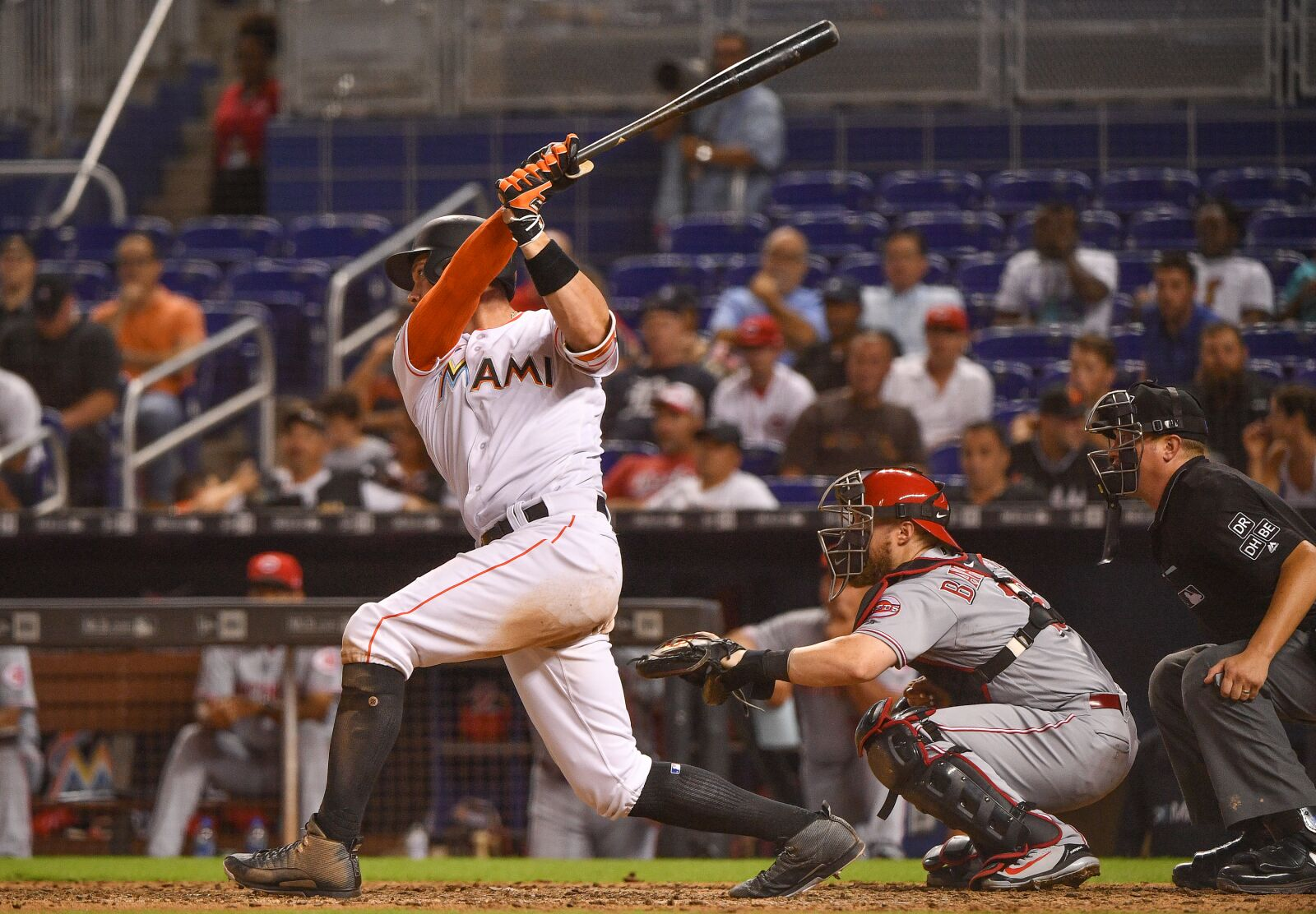 Miami Marlins Option Peter O'Brien to New Orleans Baby Cakes