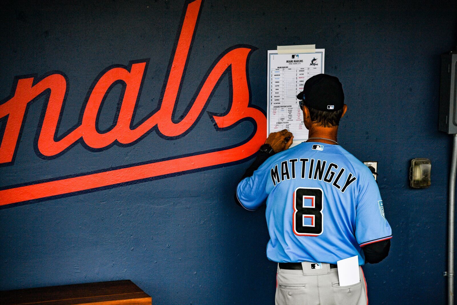 Does Don Mattingly remain the manager of the Marlins in 2020?