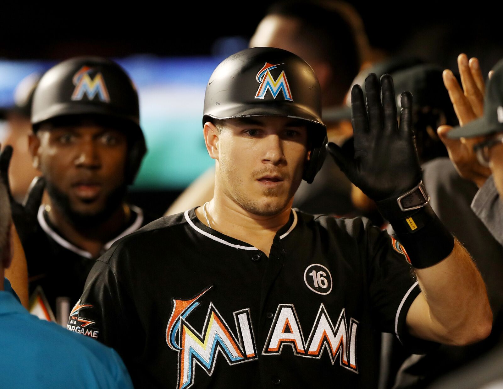 The market for Marlins catcher J.T. Realmuto changed on Monday