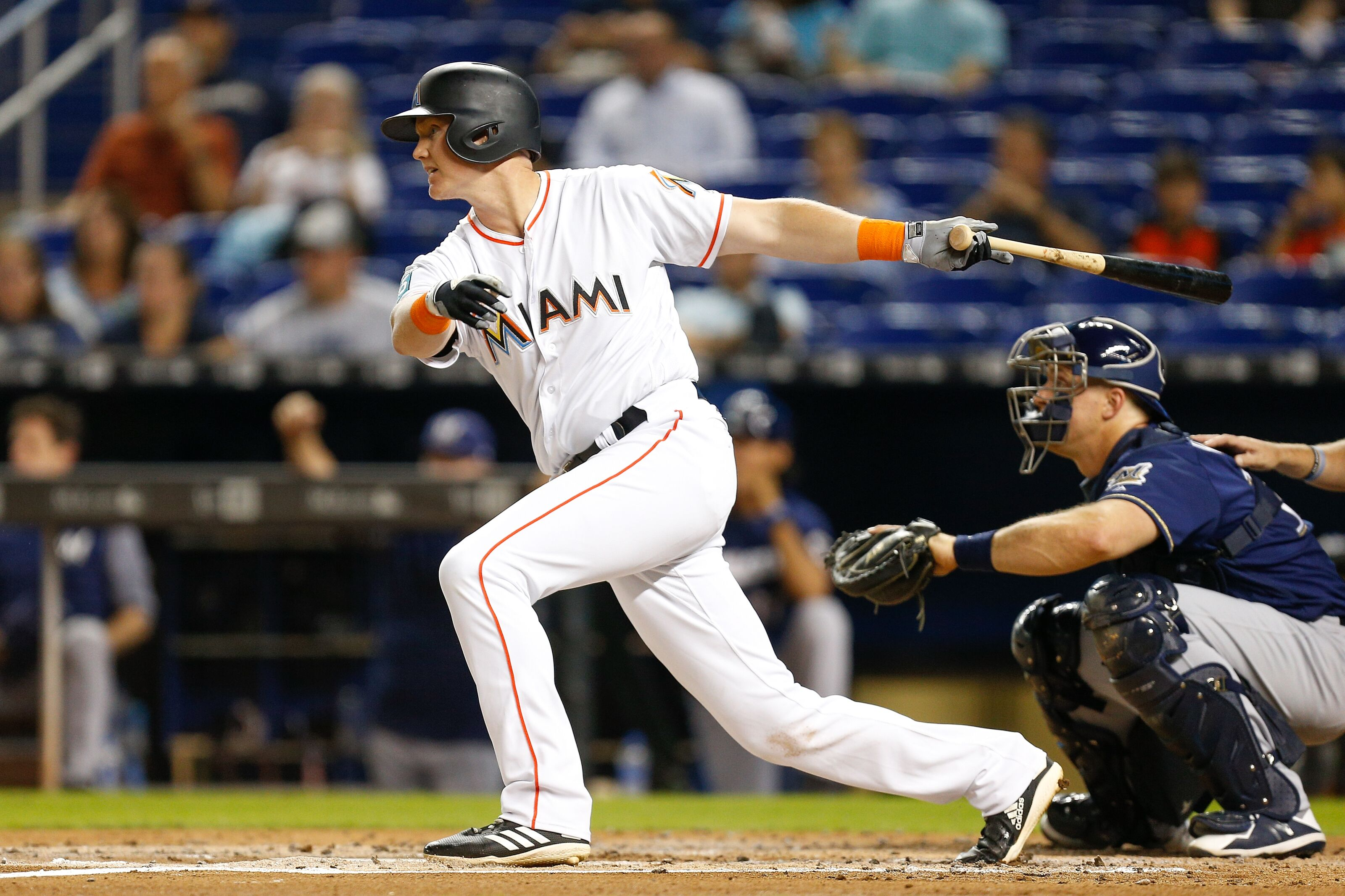 1d999ccccab Marlins OF Garrett Cooper looks to flip the script after injury-filled 2018