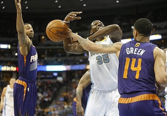 bfe88453d Gerald Green Scores Season-High 36 Points In Phoenix Suns Overtime Win Over  The Denver Nuggets