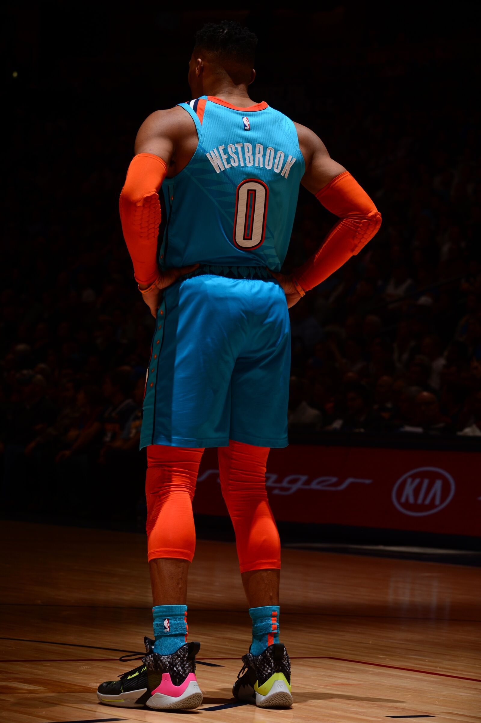 the latest 7f03a 8a1b1 Russell Westbrook Misbehaves in the Mile High (Again)