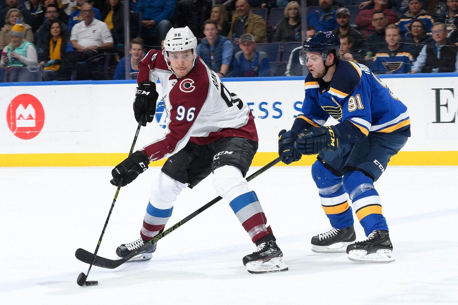 Colorado Avalanche Lose 1st Regulation Game and Mikko Rantanen