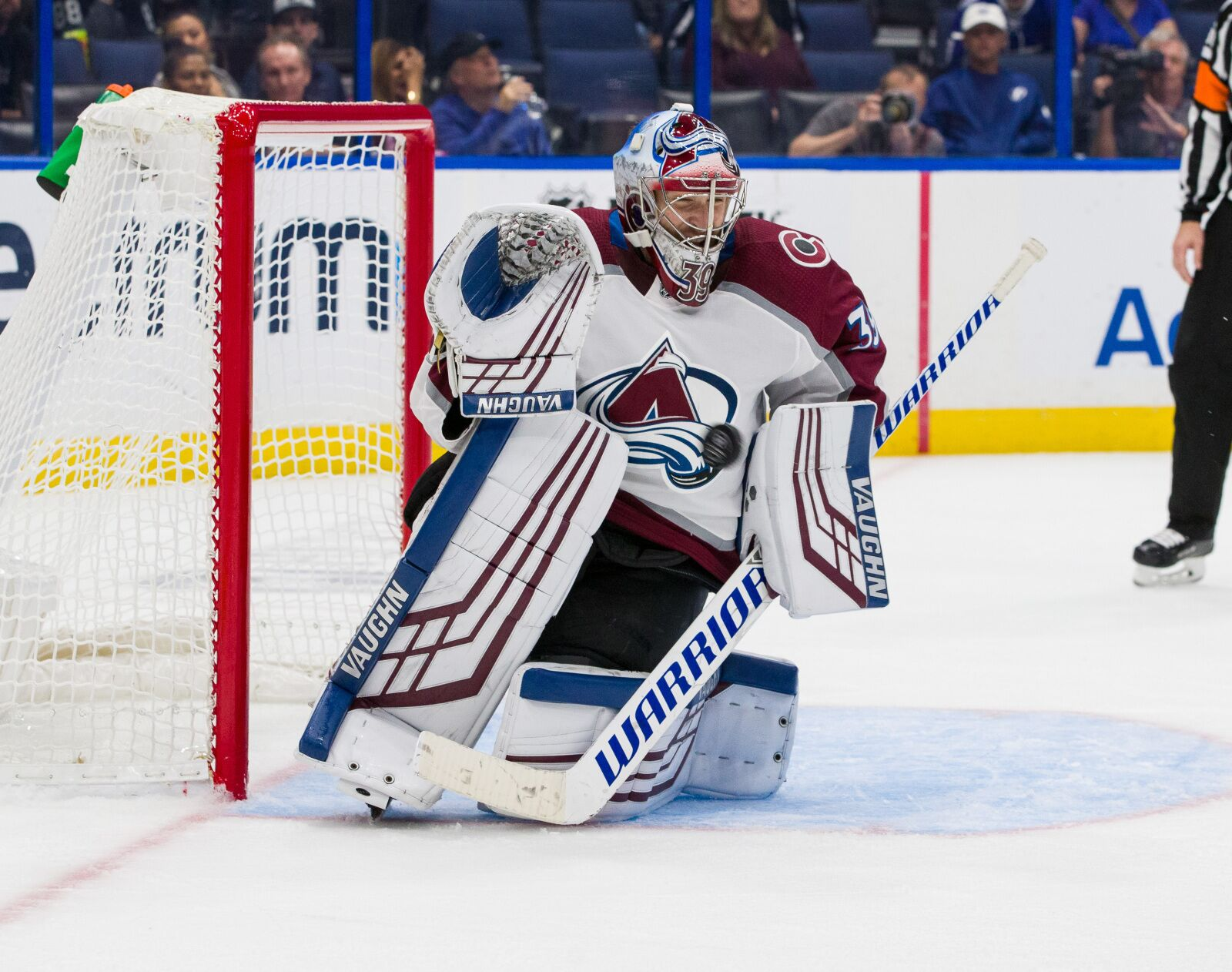 Colorado Avalanche: Pavel Francouz Shows He's an NHL Goalie