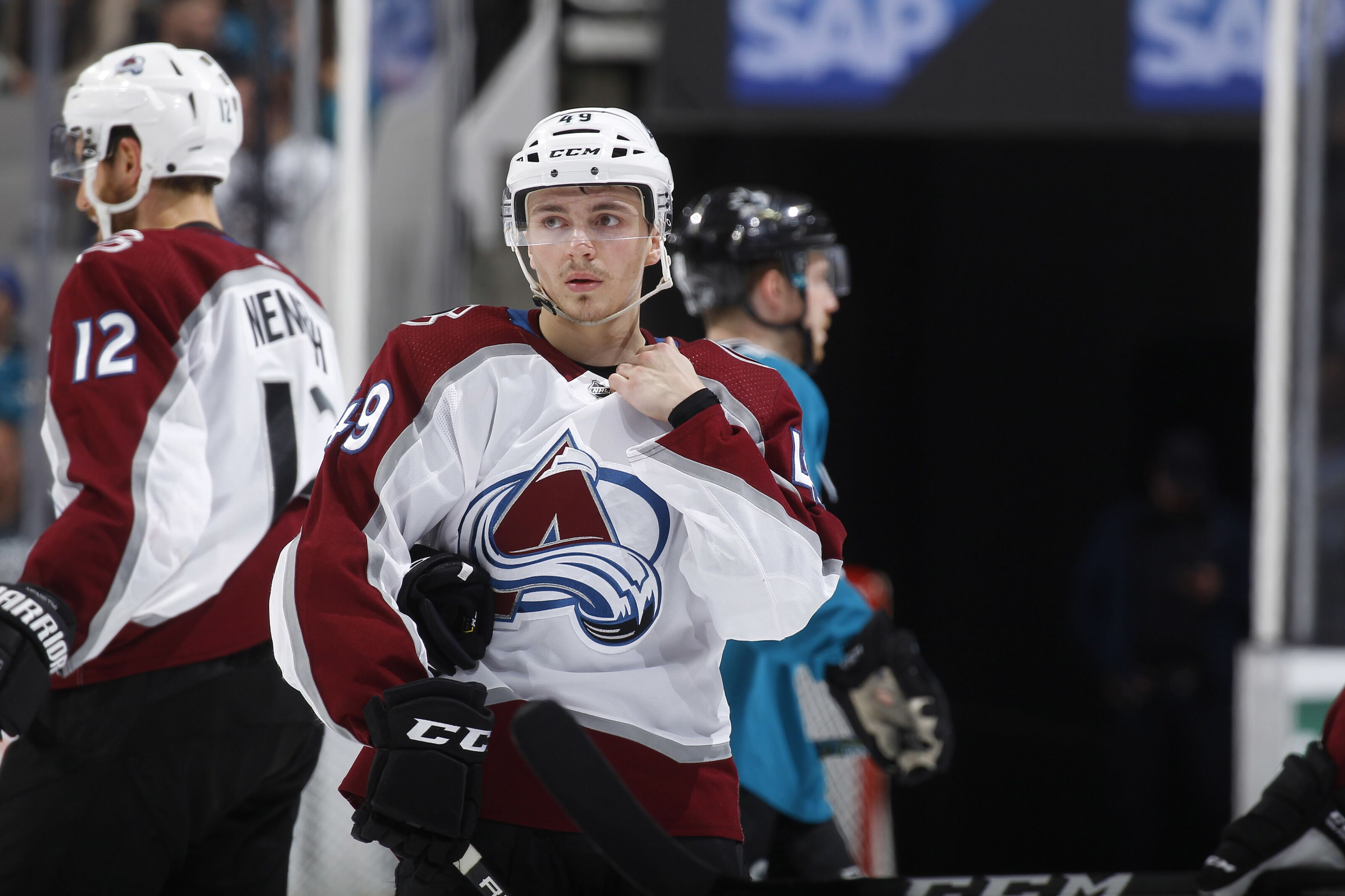 Colorado Avalanche  Sam Girard Lucky a46f5d1d5