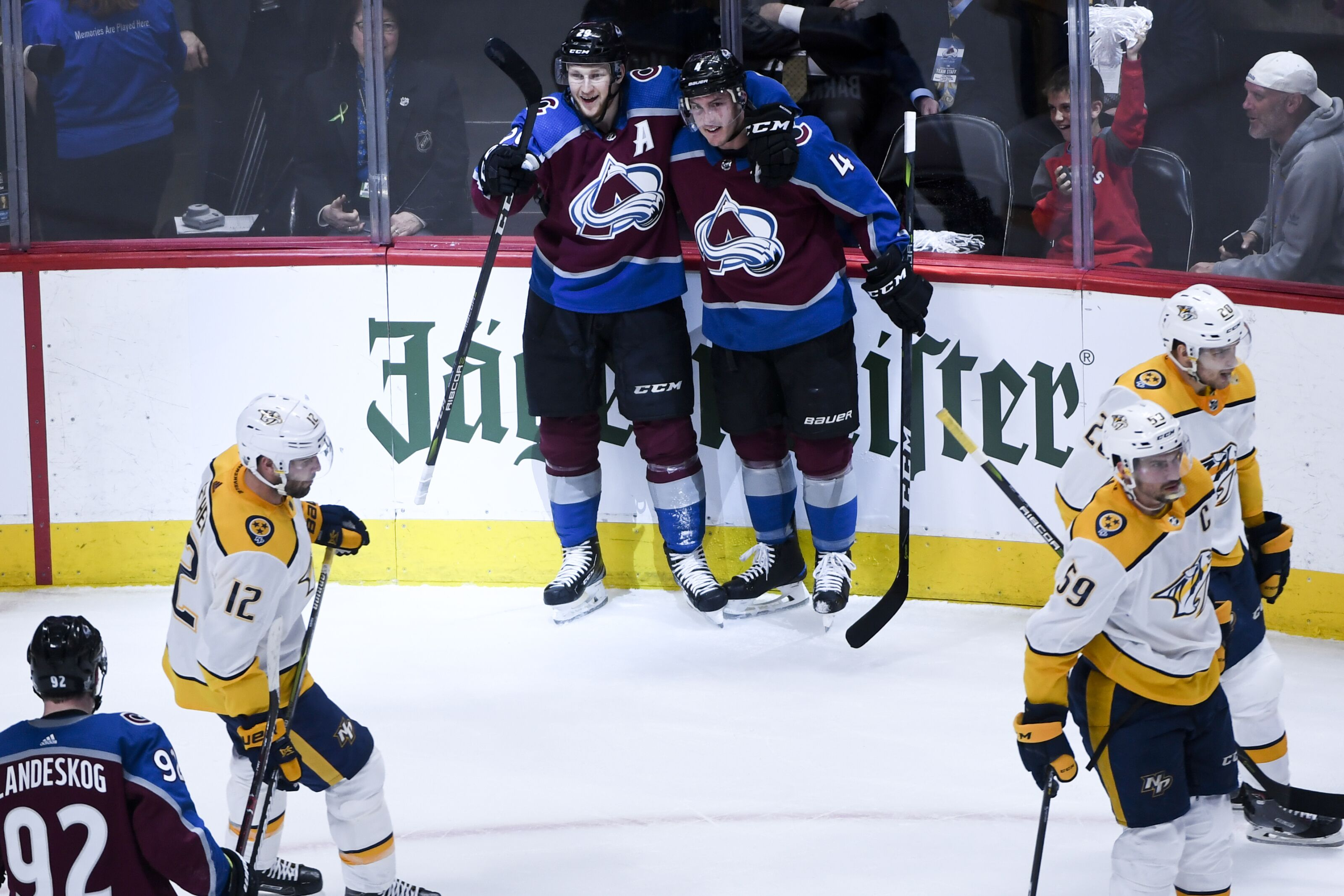 Colorado Avalanche: Tweets about Freindship
