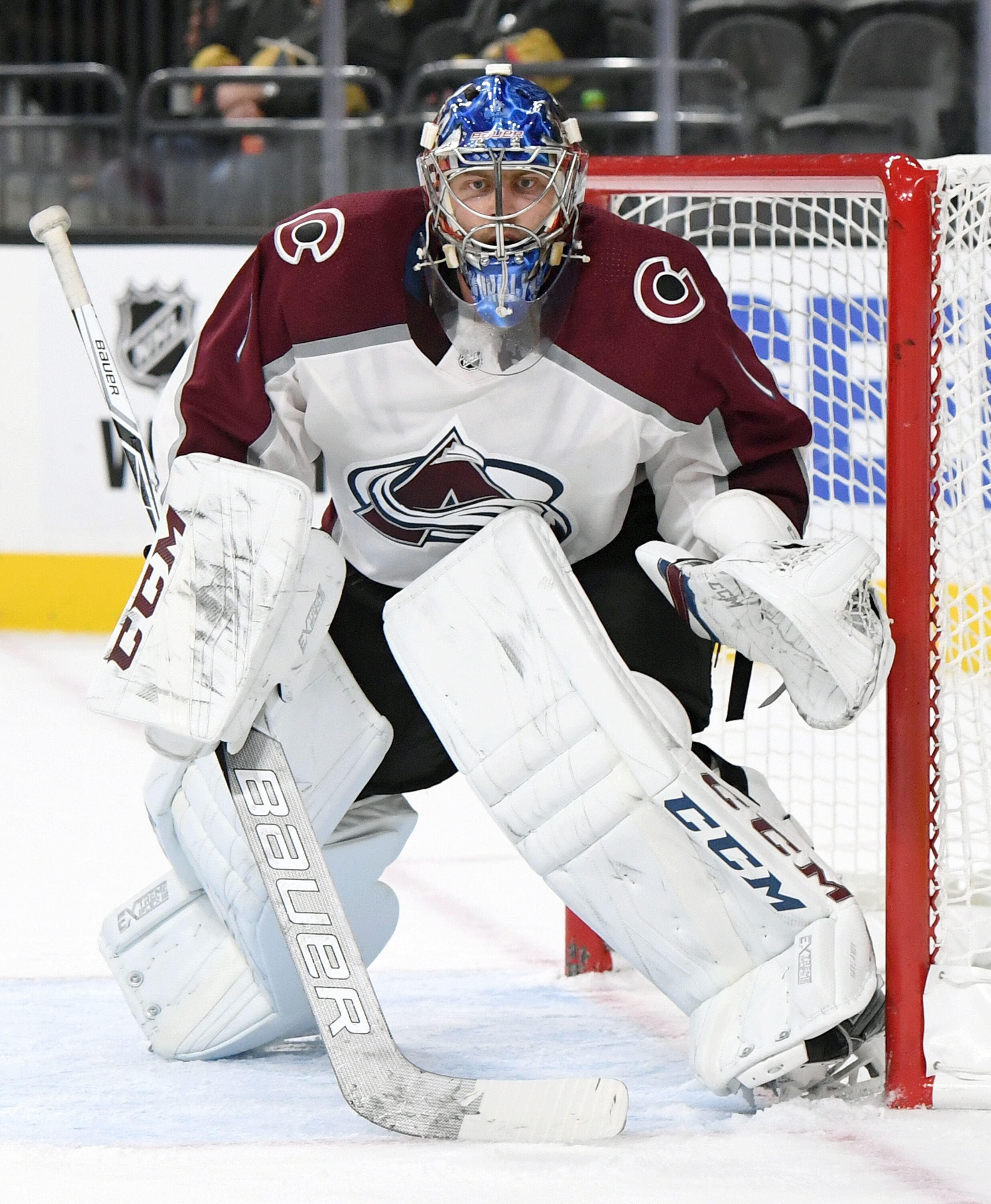f7a78572f58 Colorado Avalanche Goalie Semyon Varlamov Appears Back in Form