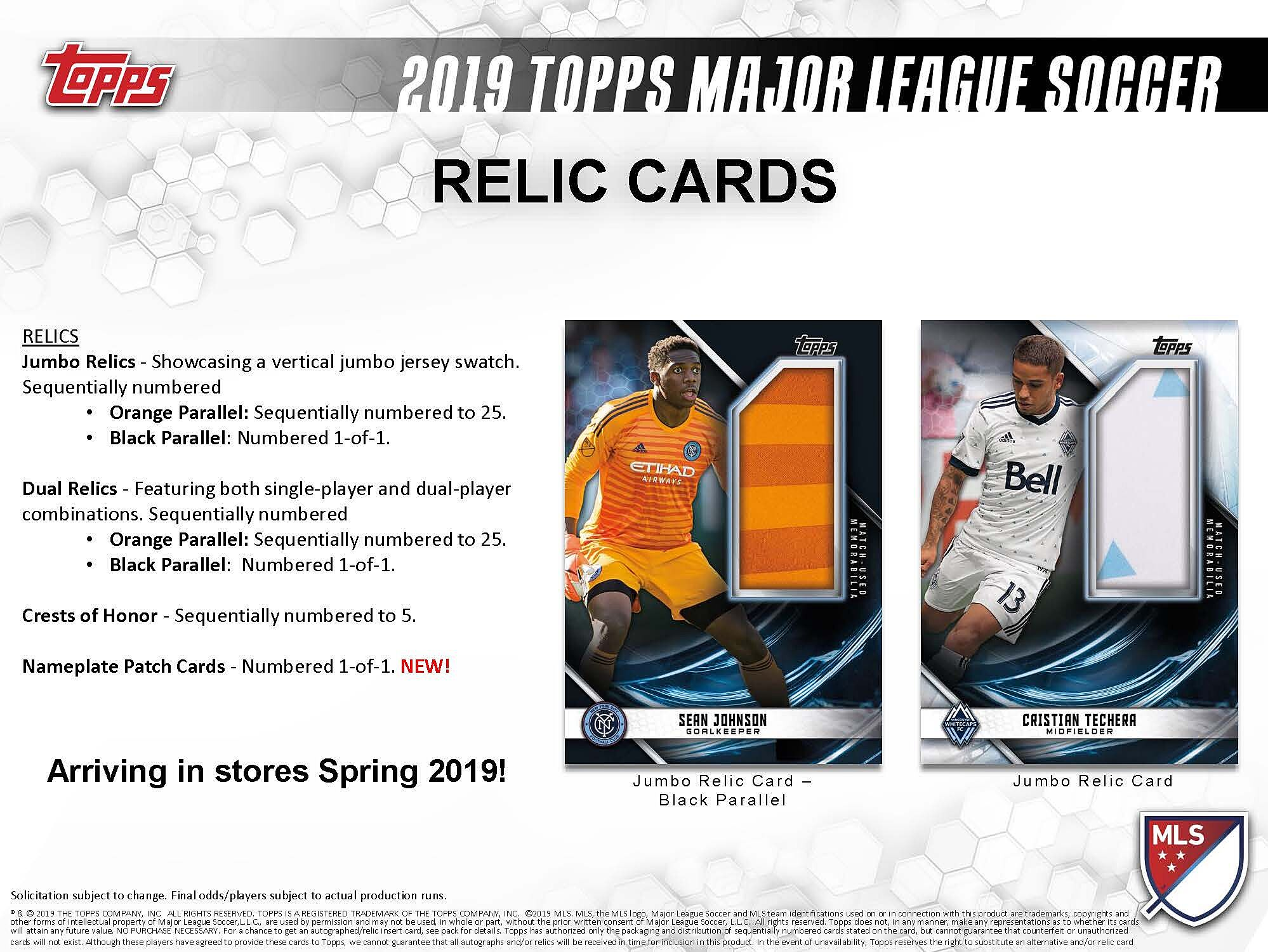 1d9dced8c93 Topps Major League Soccer 2019 provides three relics per hobby box at a  very reasonable price point. Here s a review for anyone considering card  collecting.