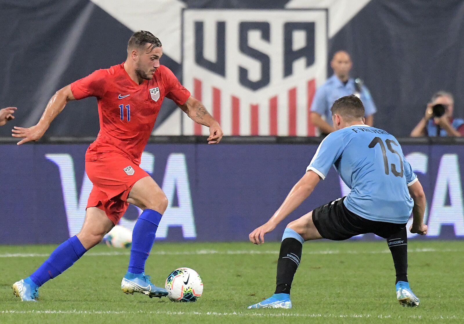 USMNT Vs Uruguay: Jordan Morris stakes his claim