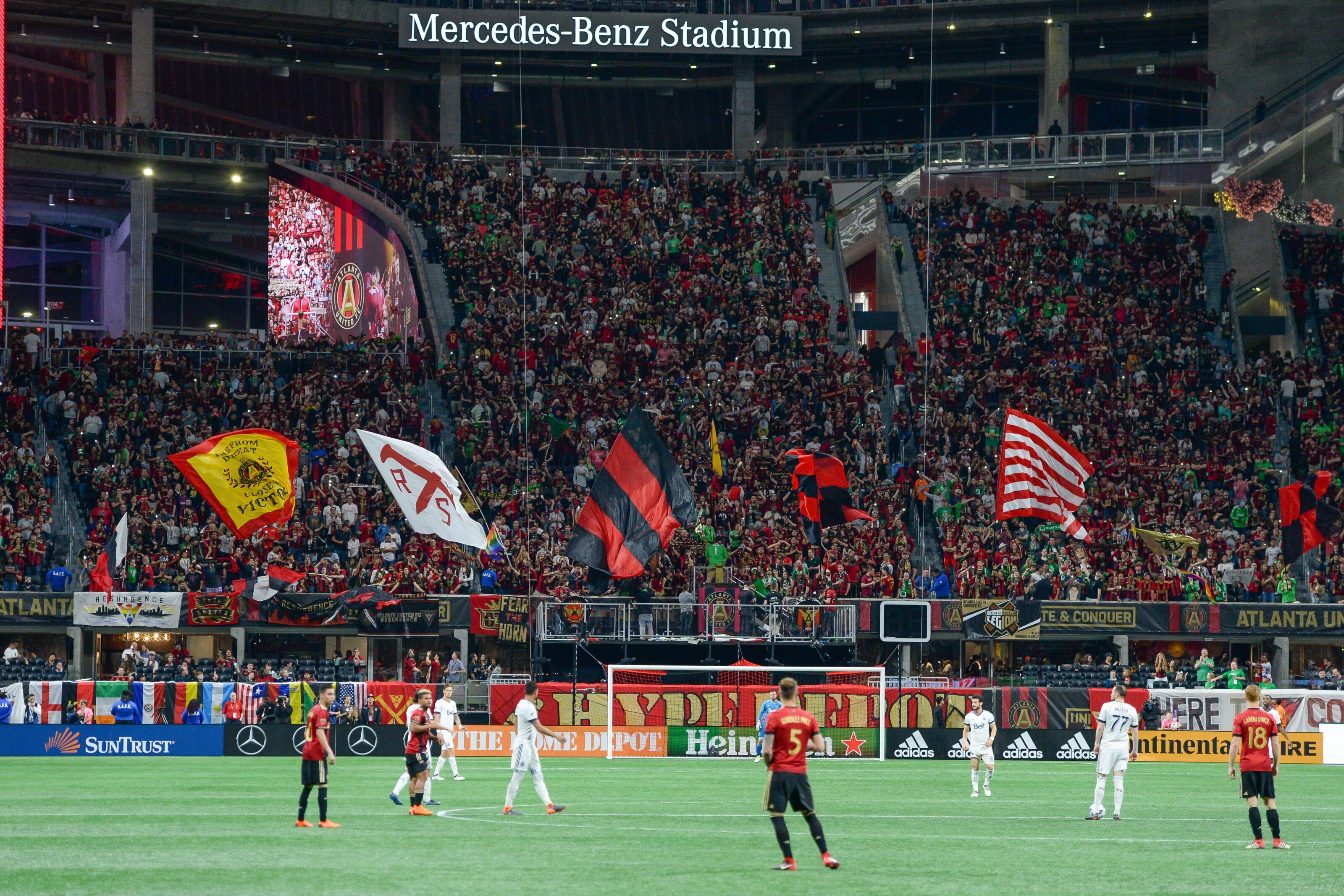 Mercedes Benz Columbus Ga >> Atlanta United: The Black Soccer Culture Nobody Knew Existed