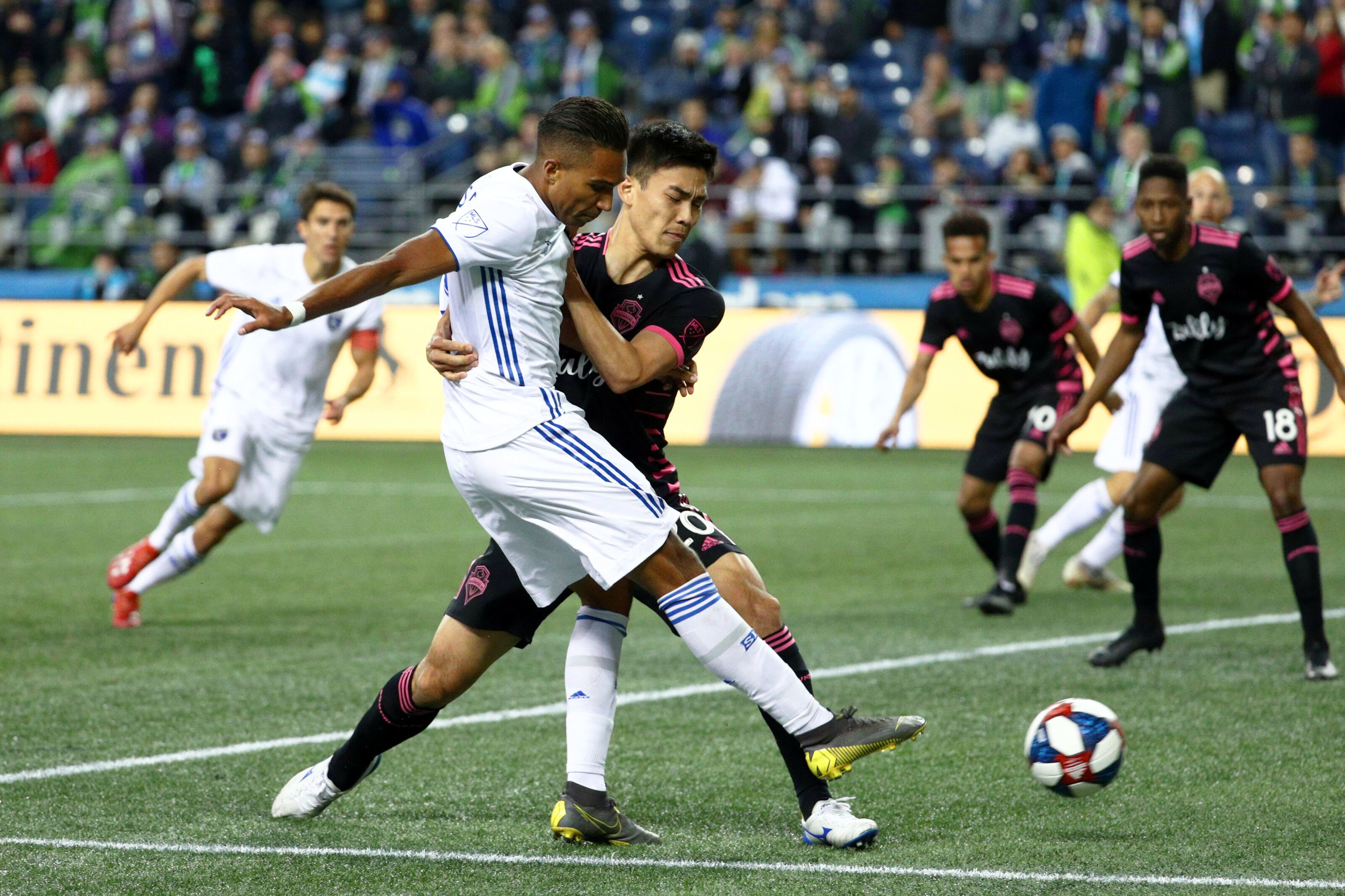 5b6991050 Seattle Sounders Vs San Jose Earthquakes: 3 things we learned – Sounders  dig out of hole