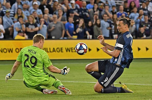 7cbc29c4465 Sporting KC Vs LA Galaxy  3 things we learned- Zlatan returns in style