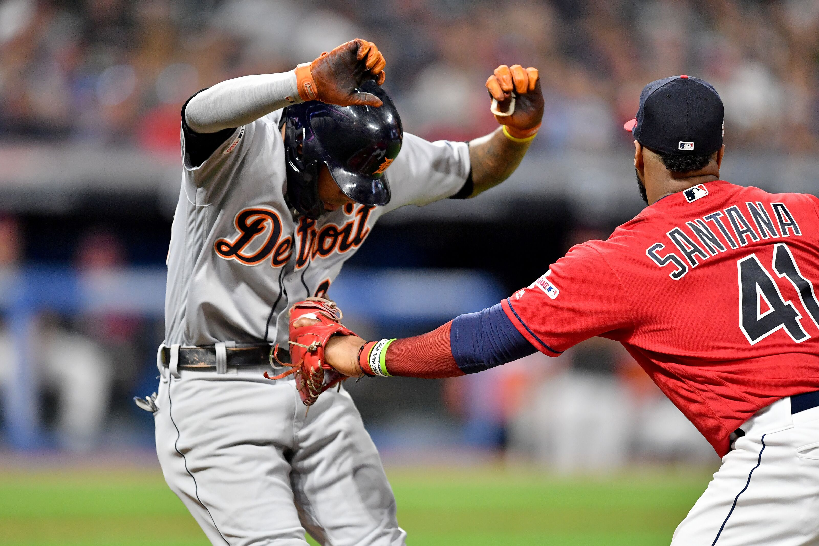 Detroit Tigers finish season series against Tribe with a loss