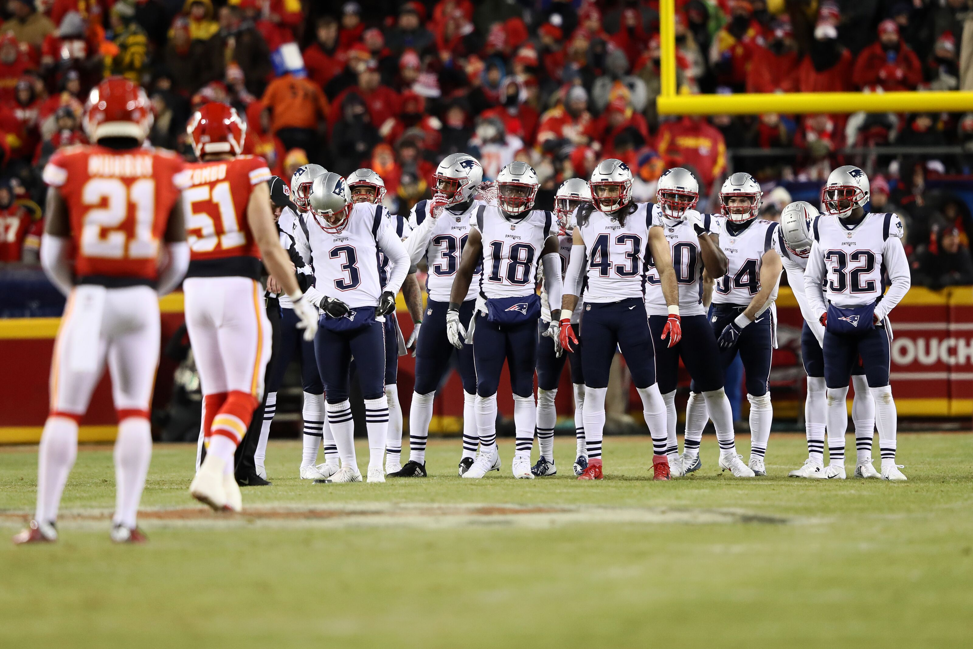 Patriots lead in the AFC grows with Chiefs' back-to-back losses