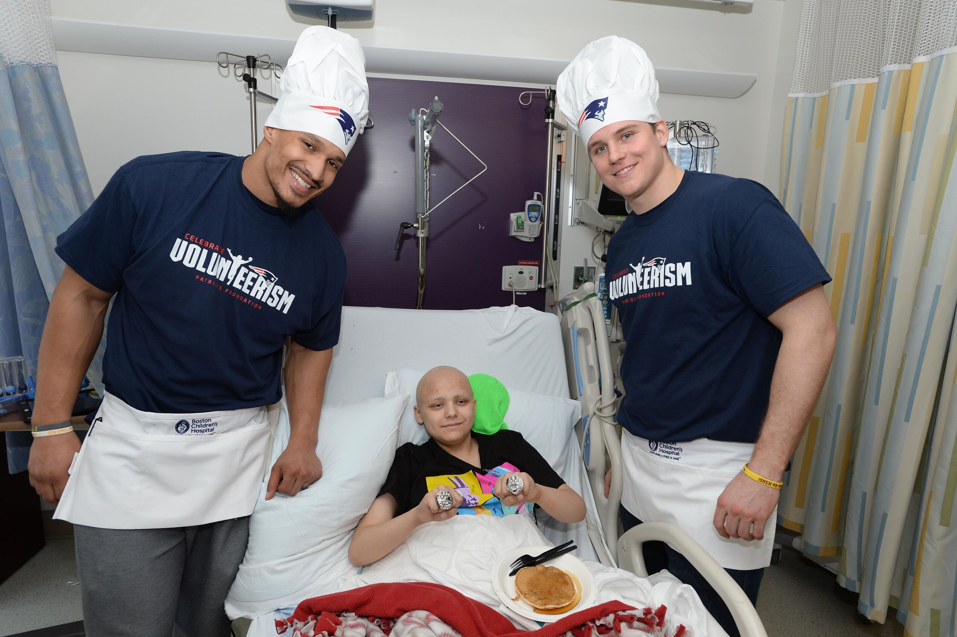 Patriots: Krafts preach importance of nonprofit and charity work