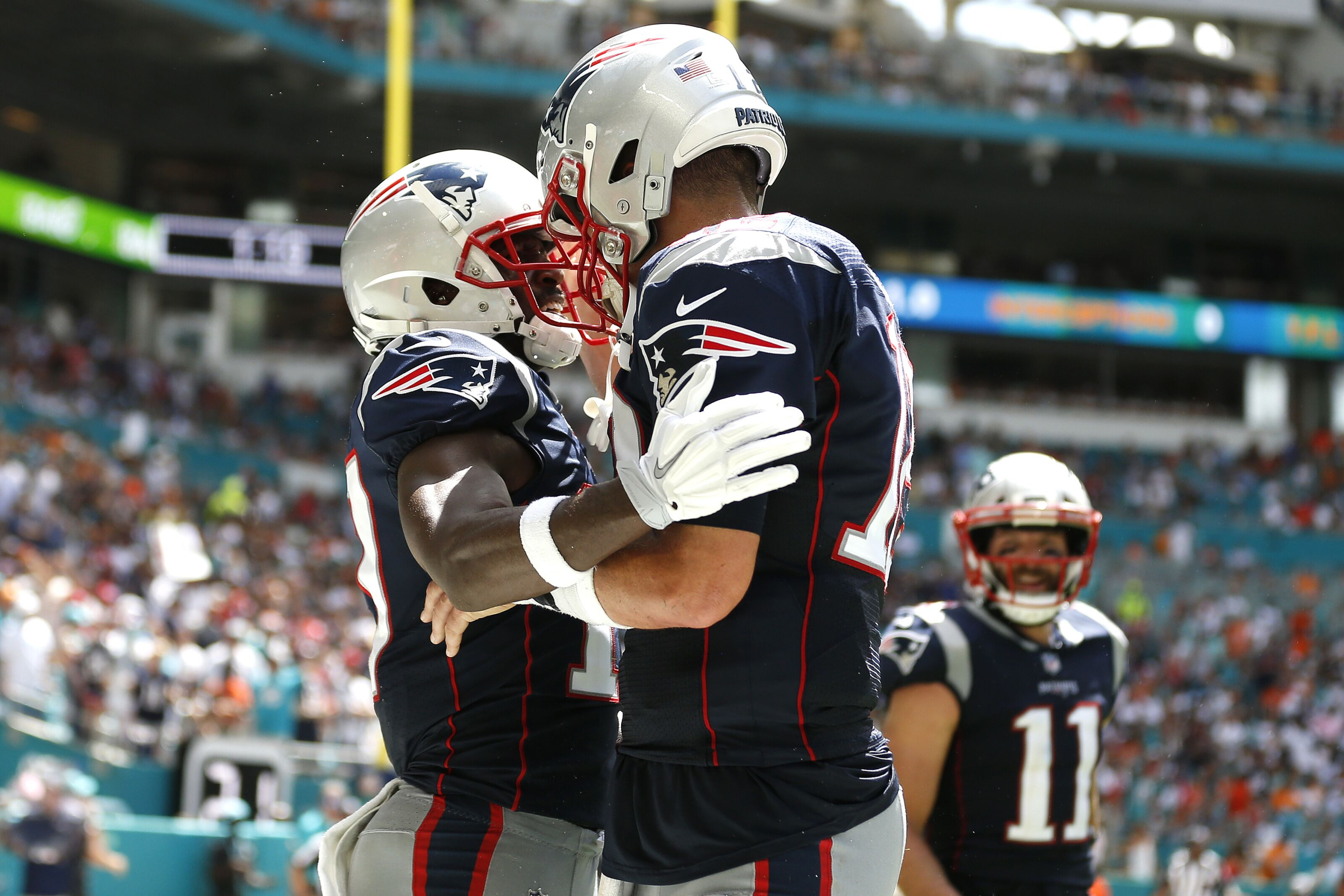 The Patriots need to make an effort to get the offense boomin' again